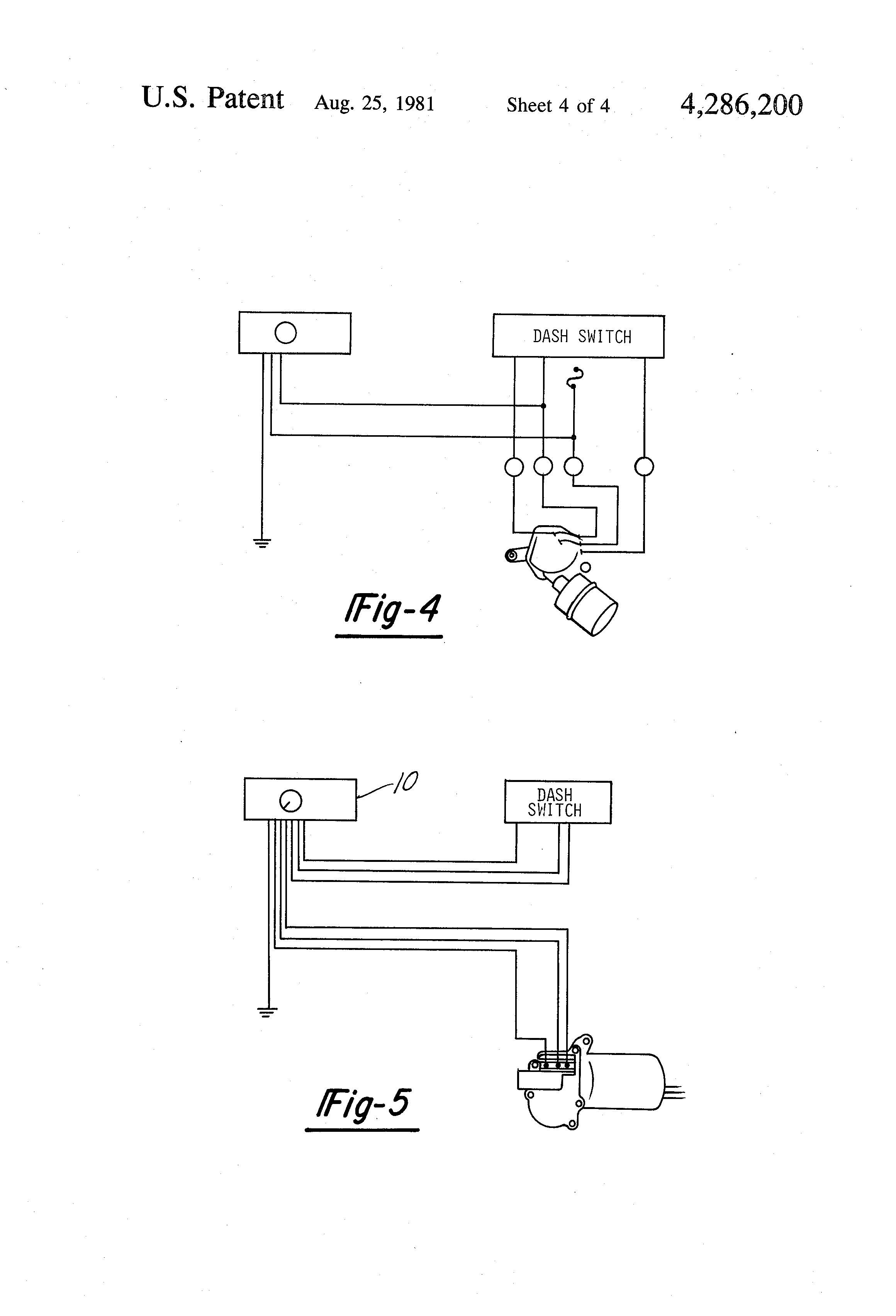 ... US4286200 4 patent us4286200 universal intermittent windshield wiper  circuit universal wiper switch wiring diagram at cita