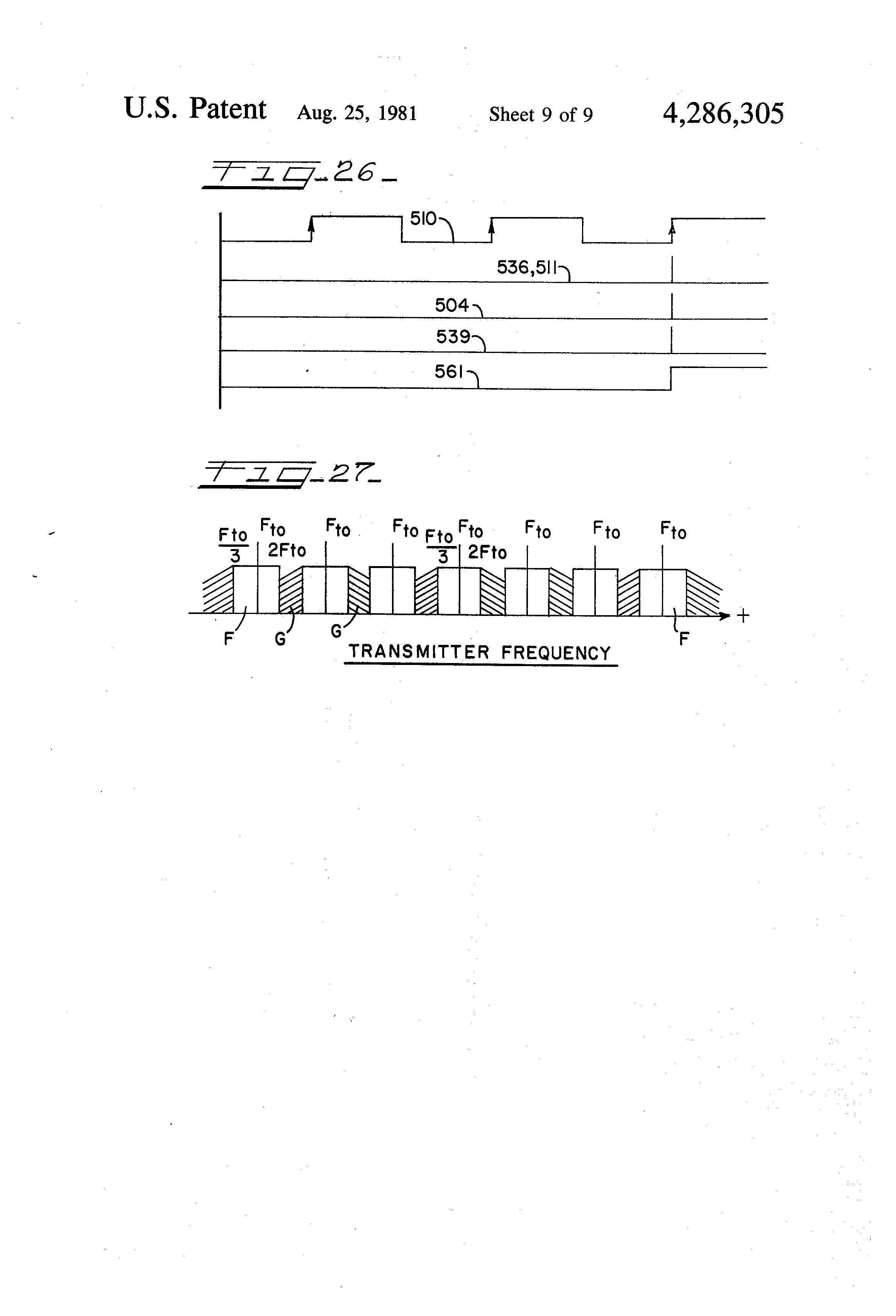 Patent Us4286305 Electronic Security Device And Method Google Resistor Color Code Chart 8211 Understanding Resistance Coding Drawing