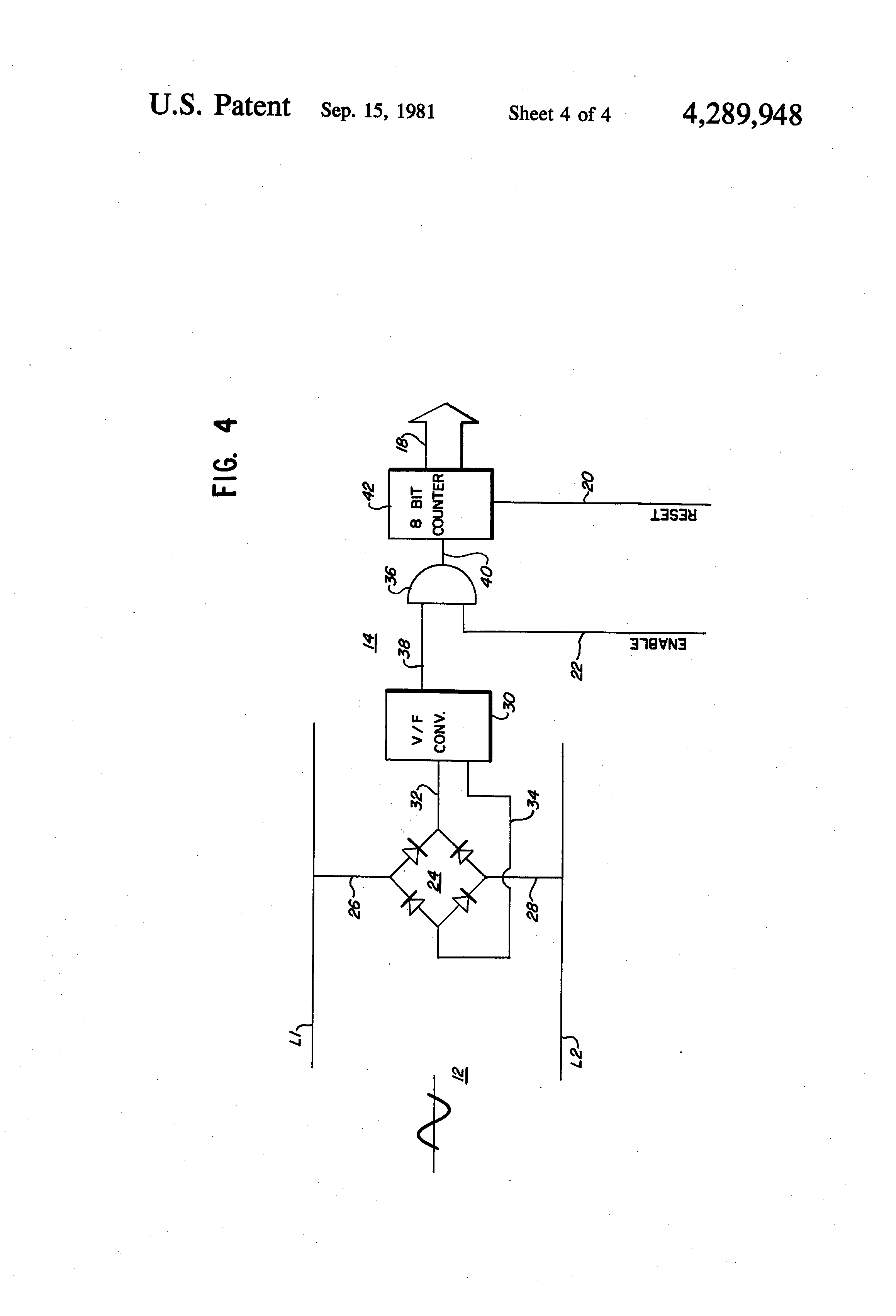 Patent Us4289948 Automatic Voltage Compensation For Digital Welder Alternating Current Contactor Energysaving Circuit Automotive Drawing