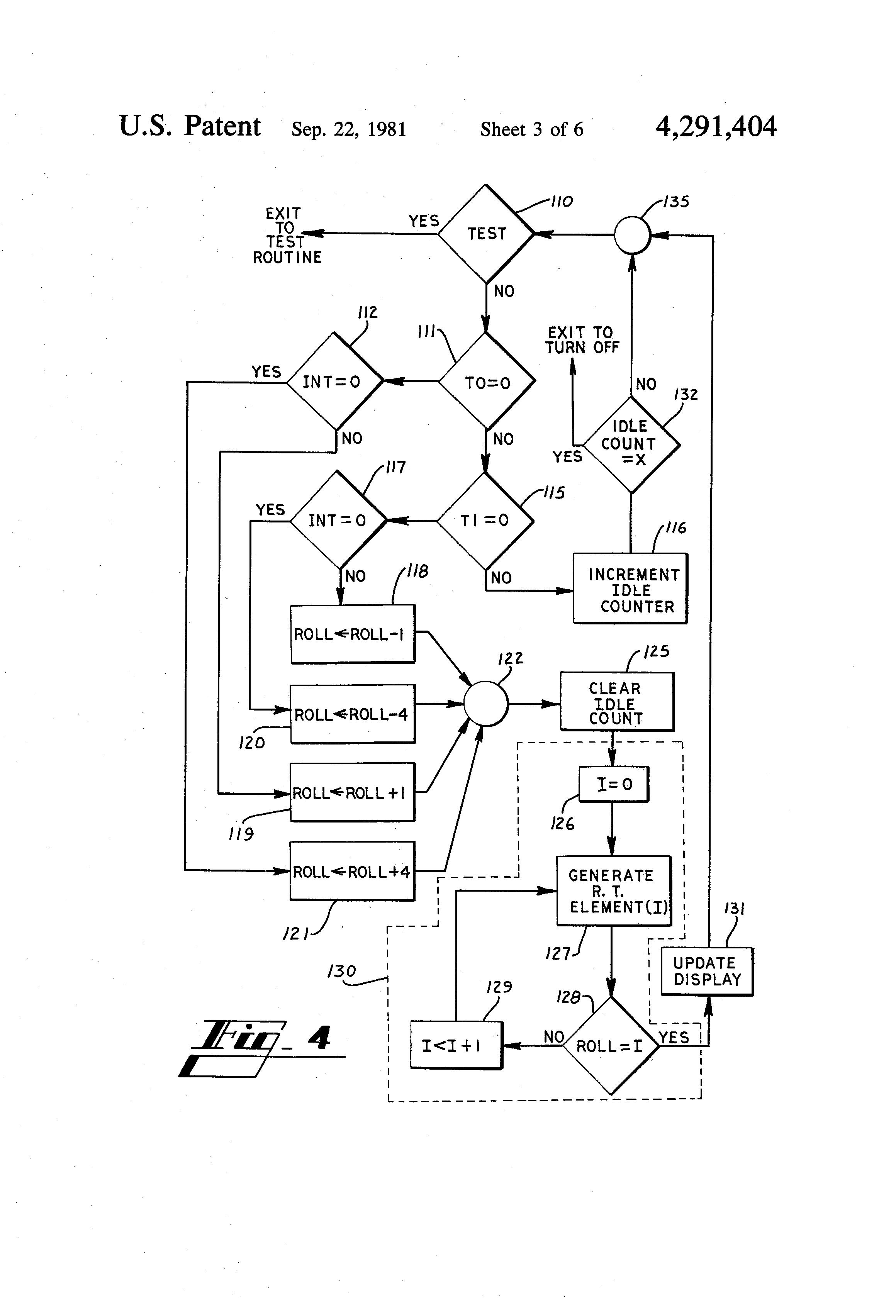 patent us4291404