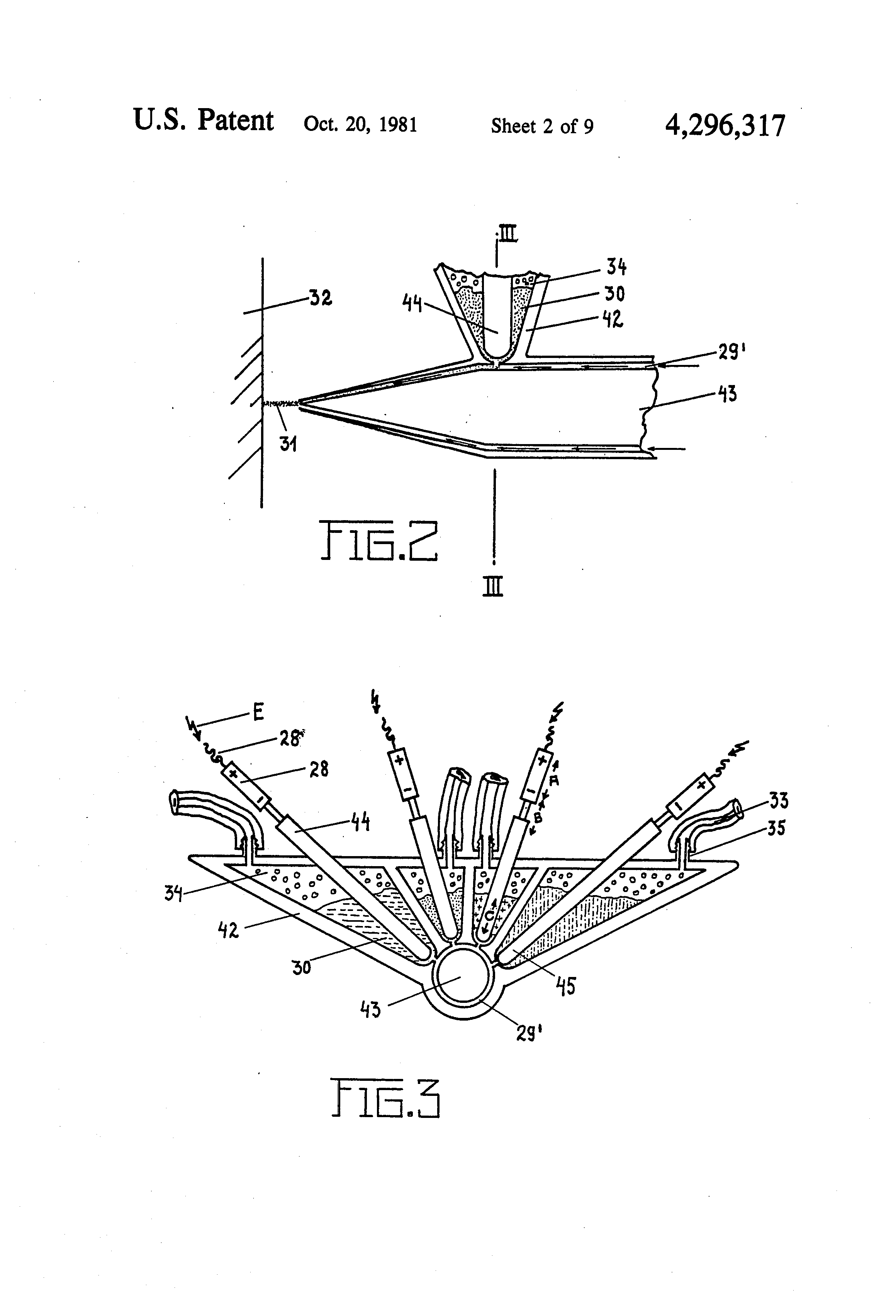 Us4296317 Paint Application Method And Machine Google Back Gt Gallery For Electromagnetic Pulse Gun Schematics Patent Drawing