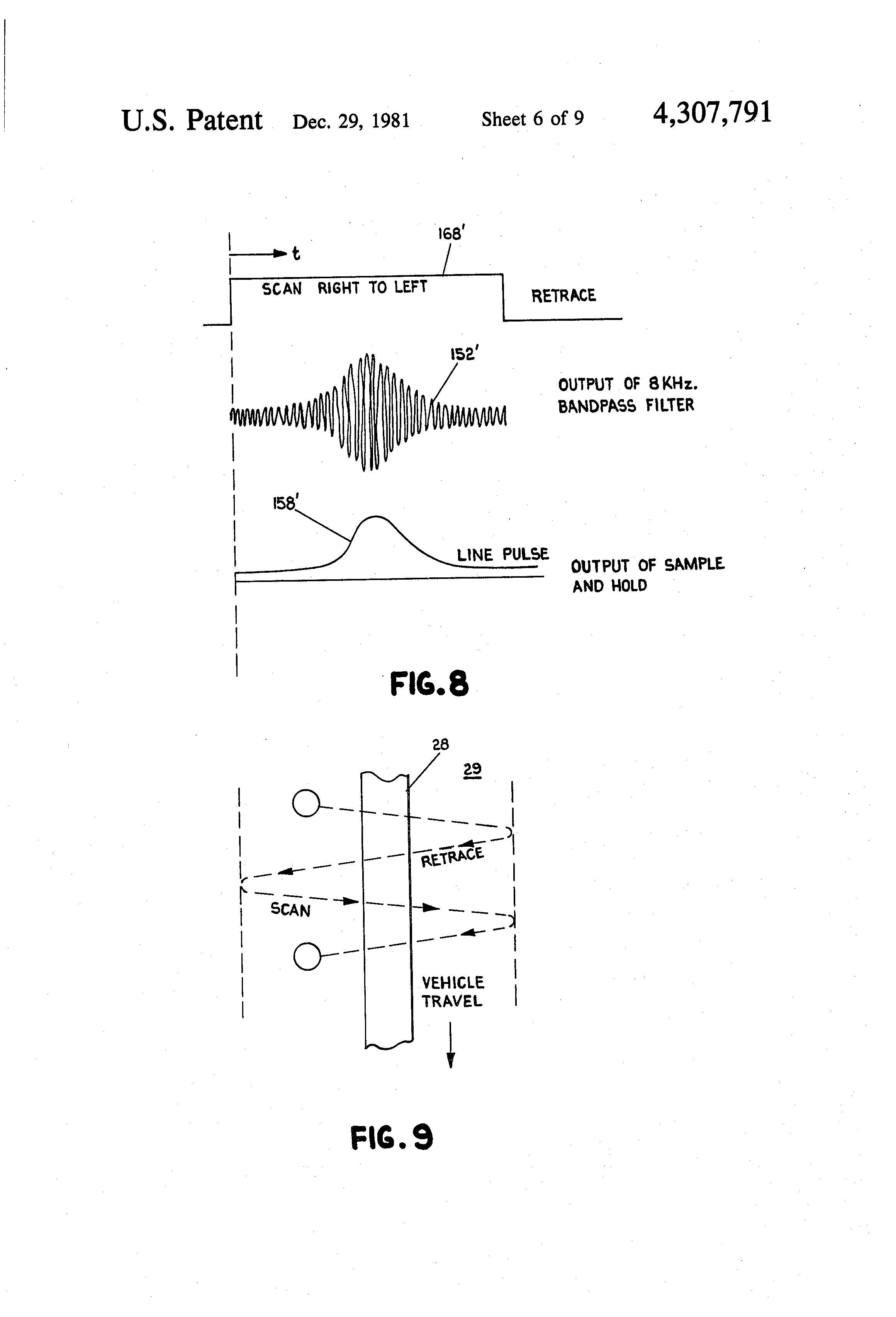 Patent Us4307791 Line Follower Vehicle With Scanning Head Google Robot Scanner Schematic Drawing