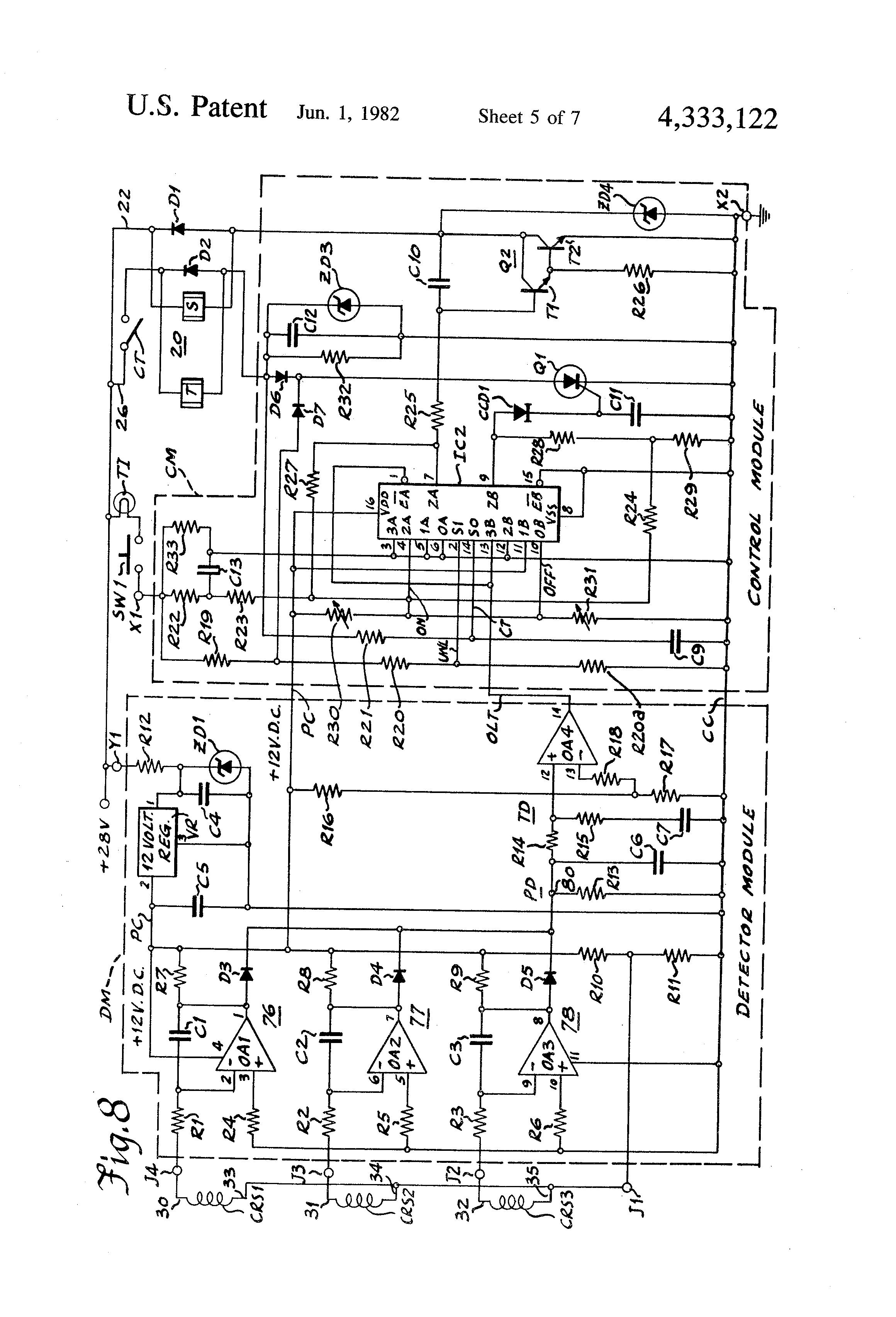 patent us4333122