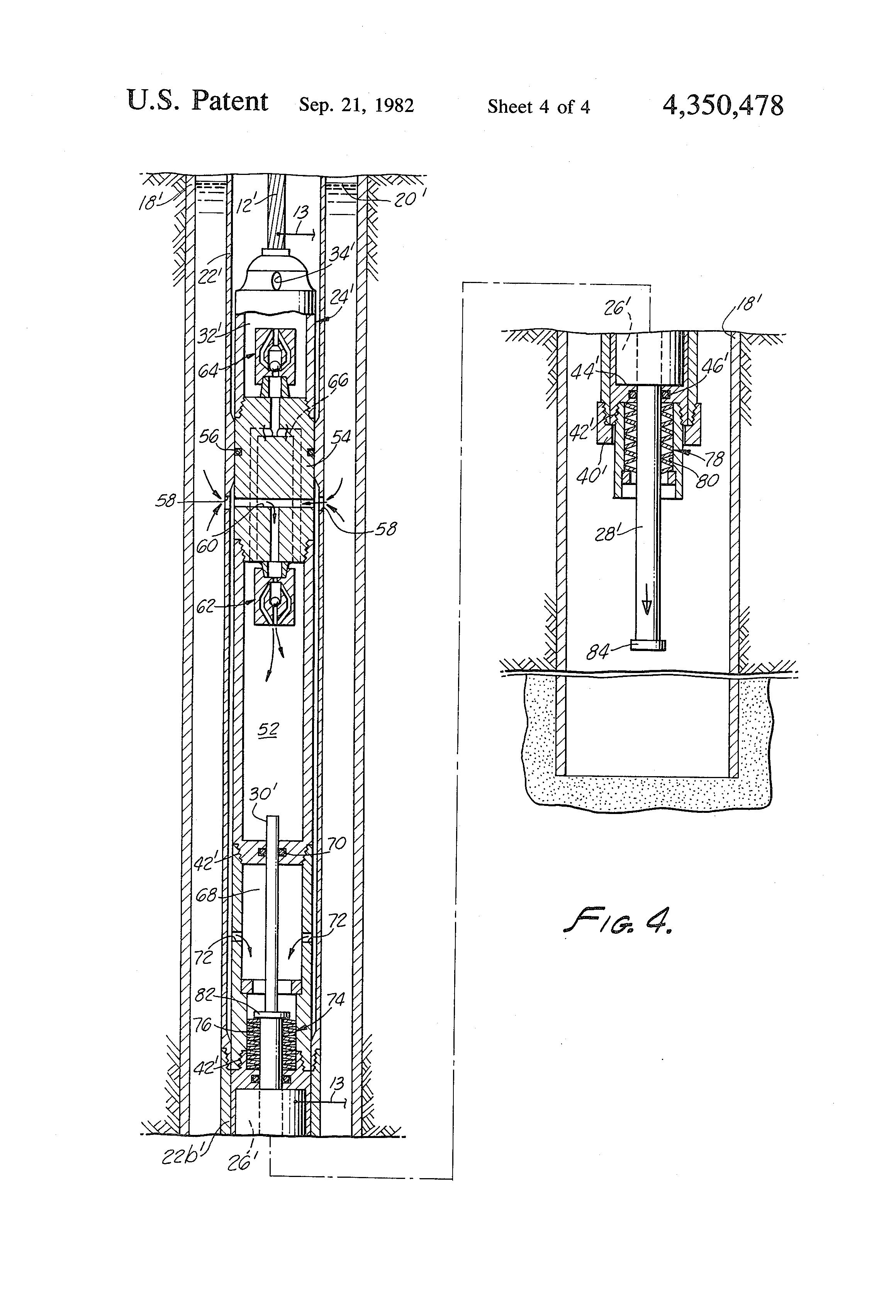 Patent Us4350478 Bottom Hole Oil Well Pump Google Patenten