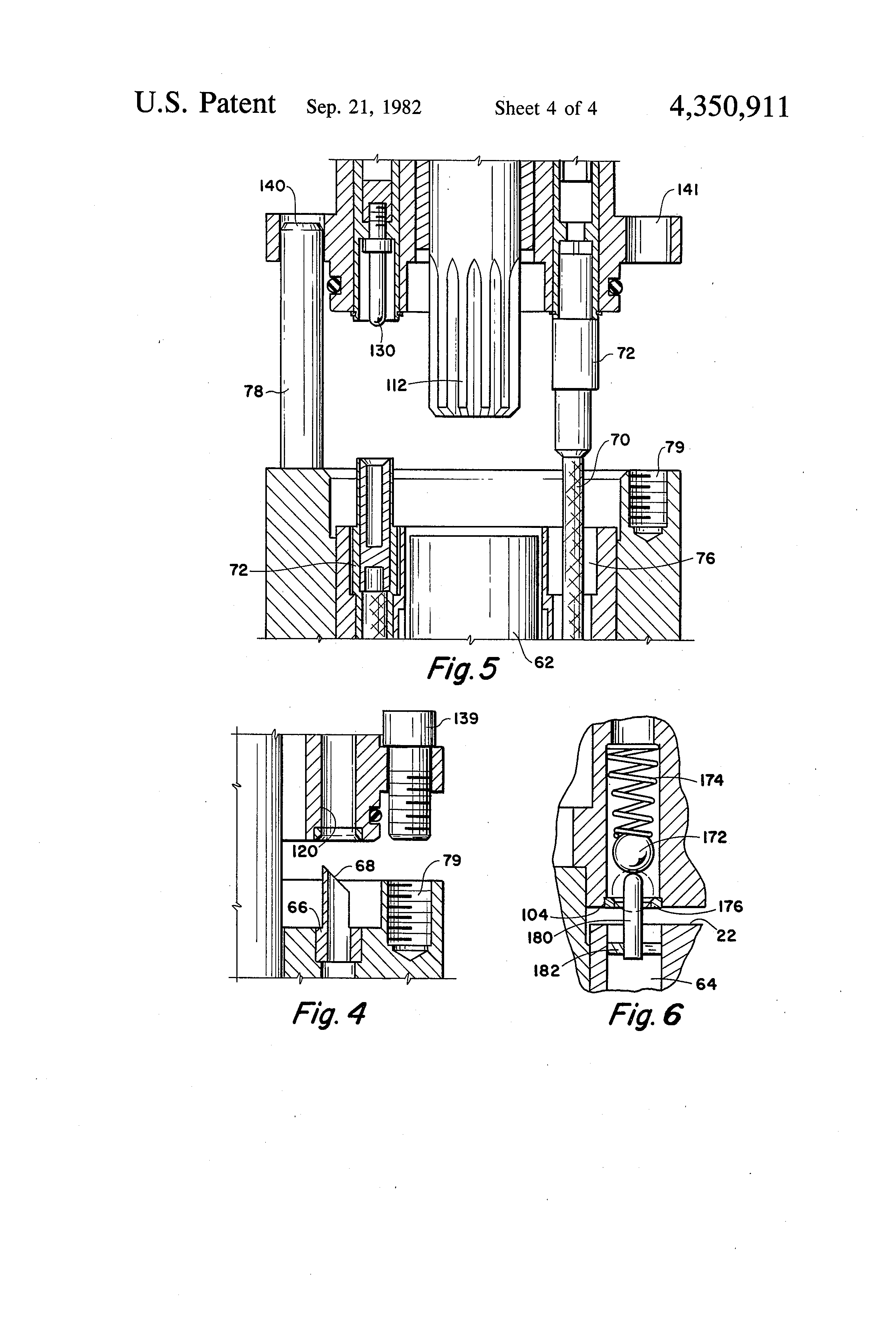 Patent Us4350911 Tandem Connected Submersible Oil Well