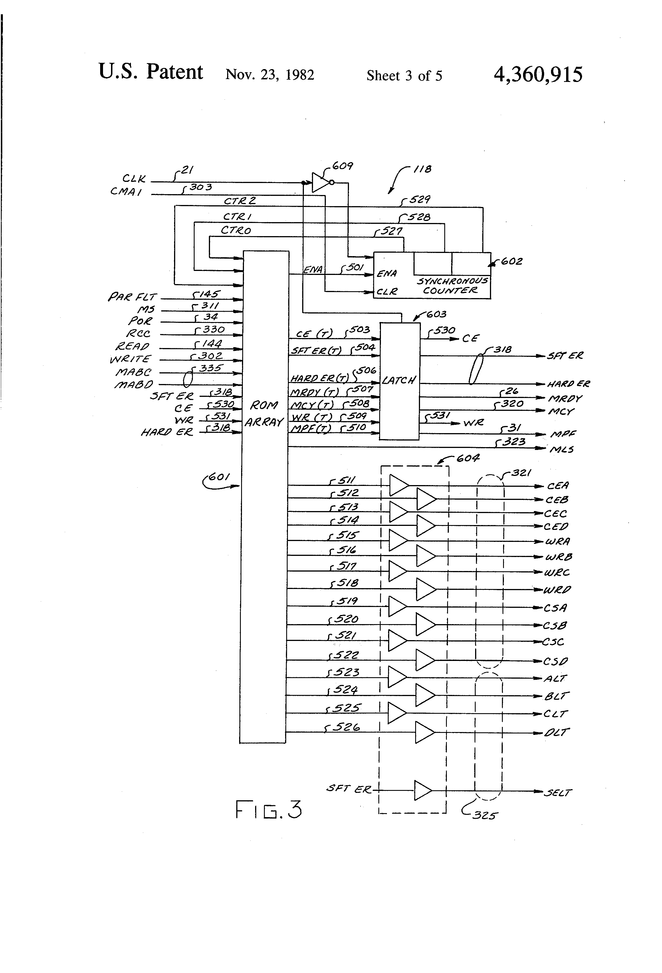 Patent Us4360915 Error Detection Means Google Patentsuche 9 Bit Parity Generator Logic Diagram Drawing