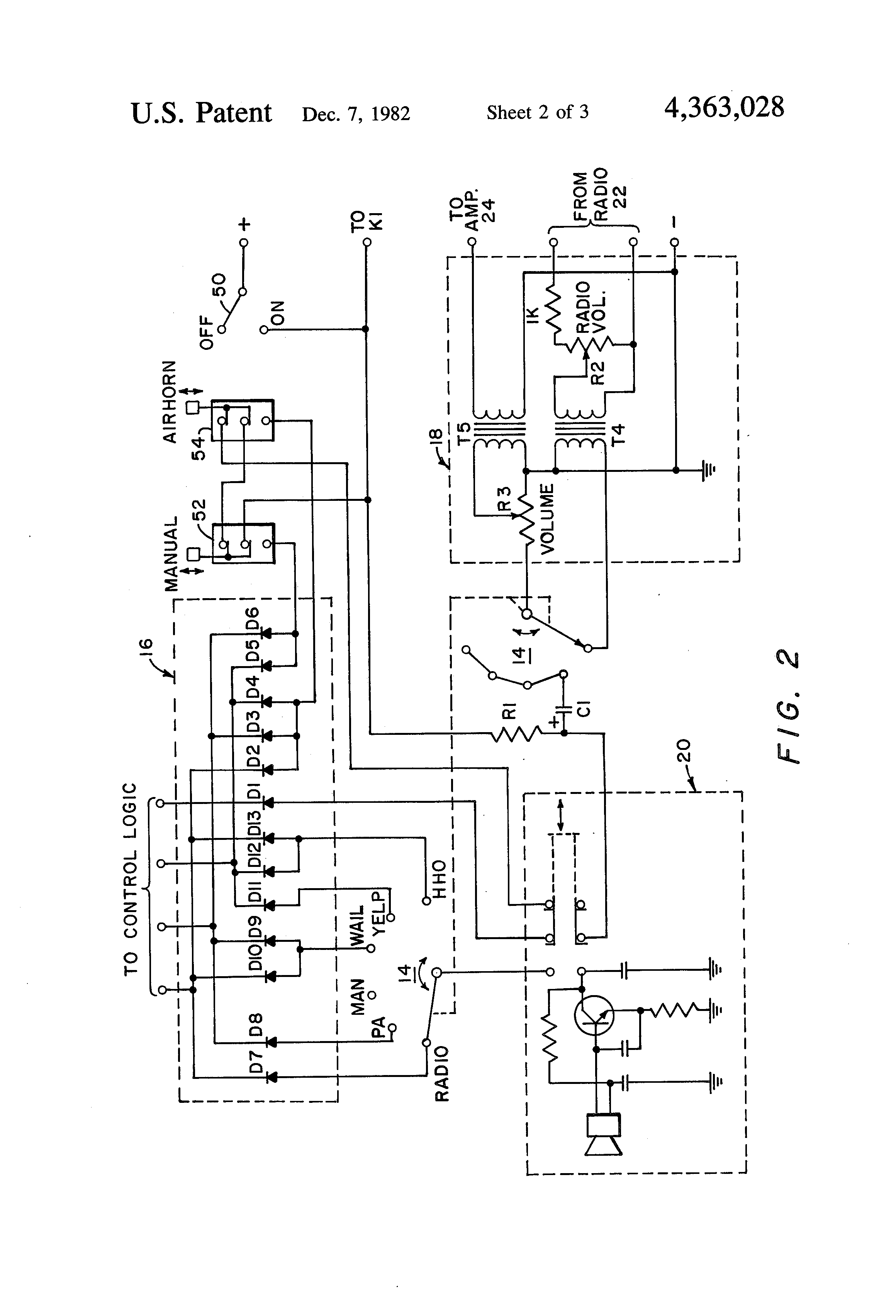 code 3 lp6000 wiring diagram