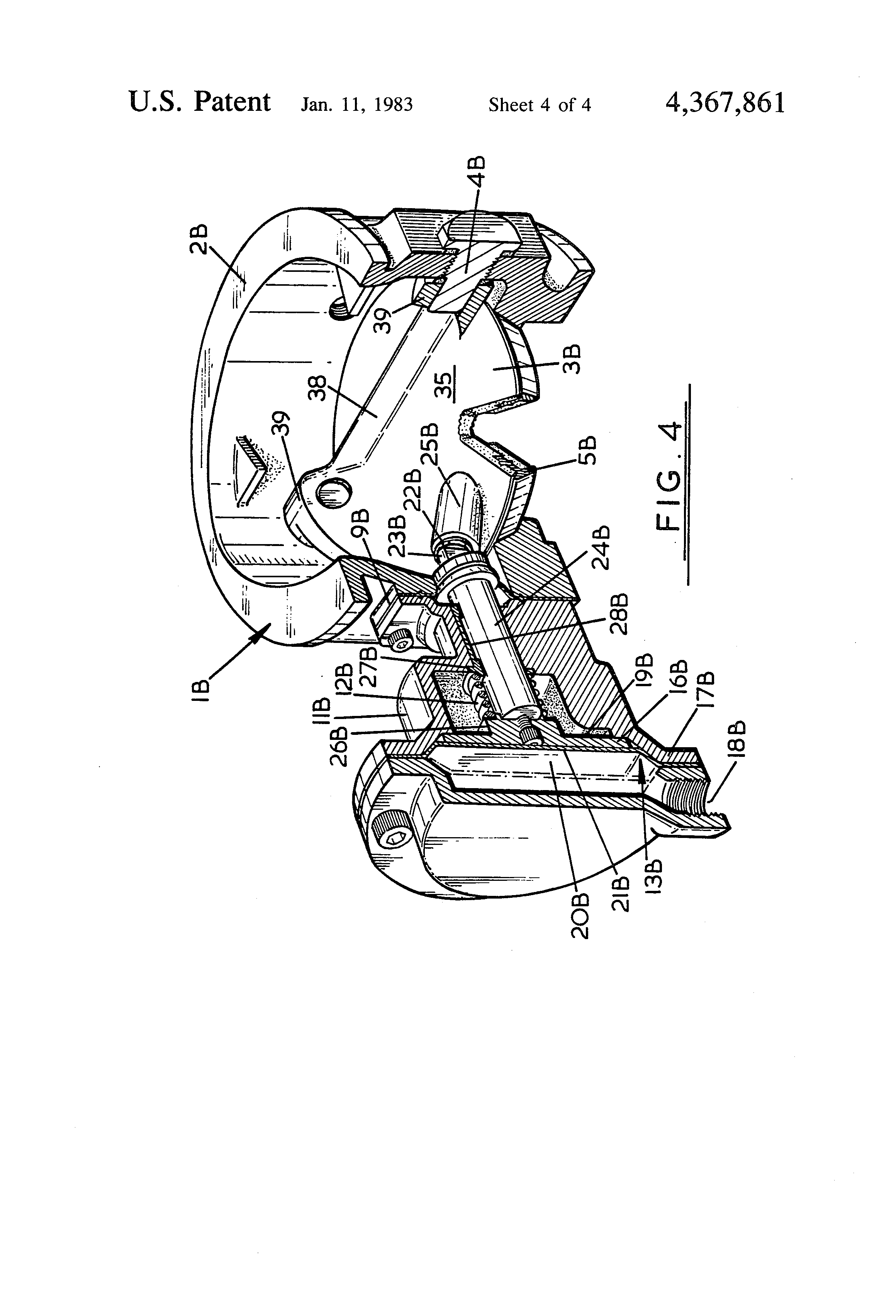 Patent us4367861 installation control valves google patents patent drawing nvjuhfo Choice Image