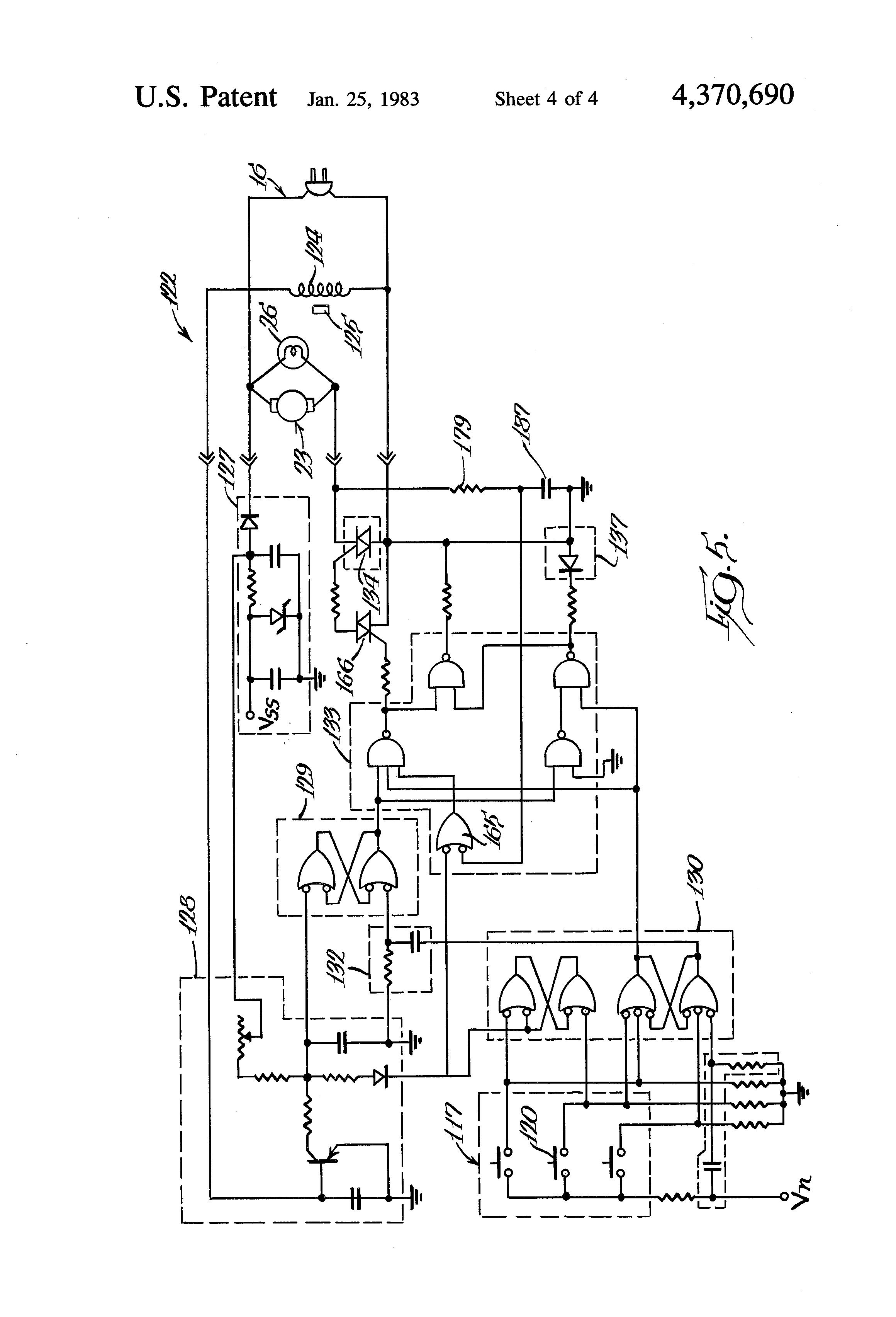 Patent Us4370690 - Vacuum Cleaner Control