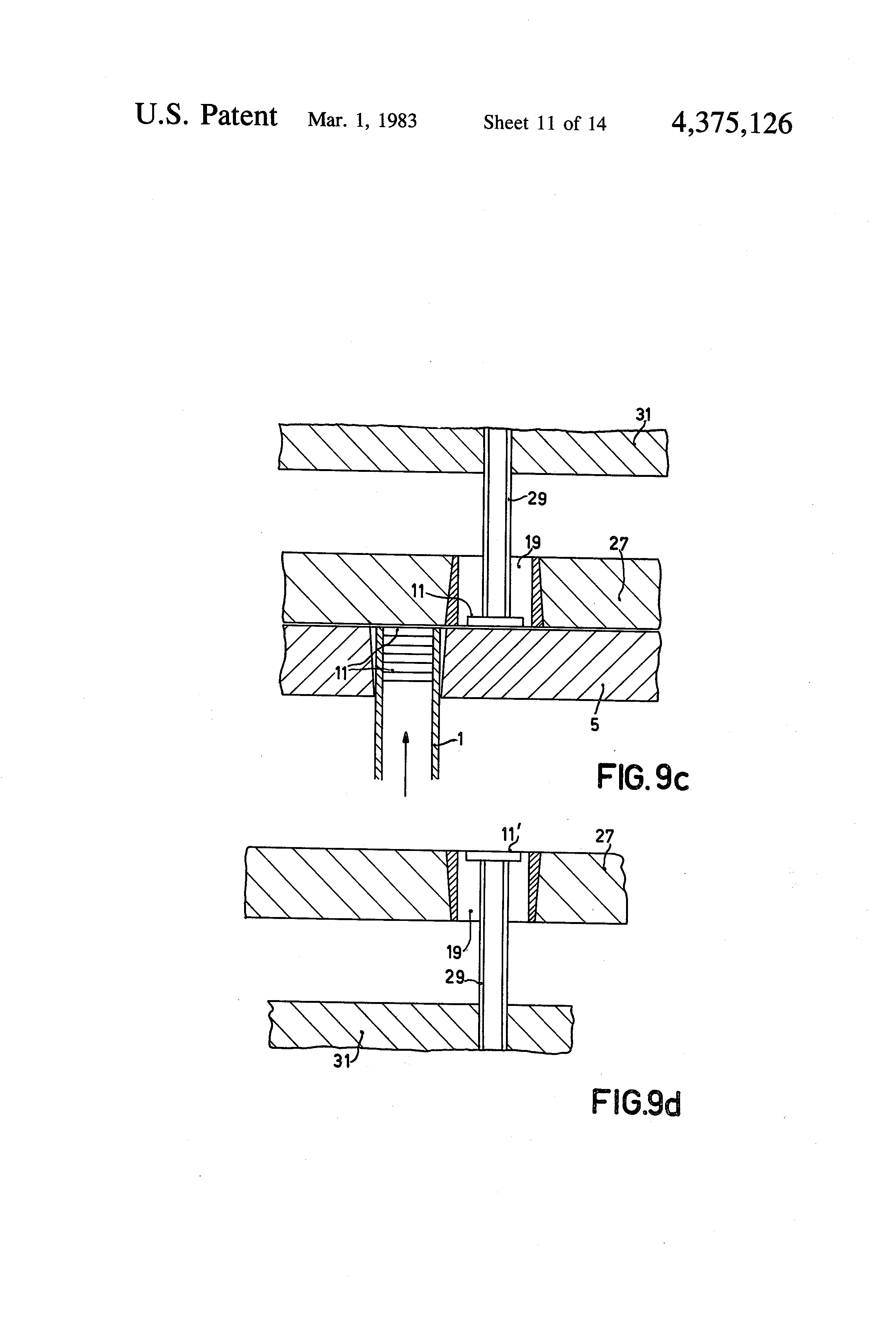 patent us4375126