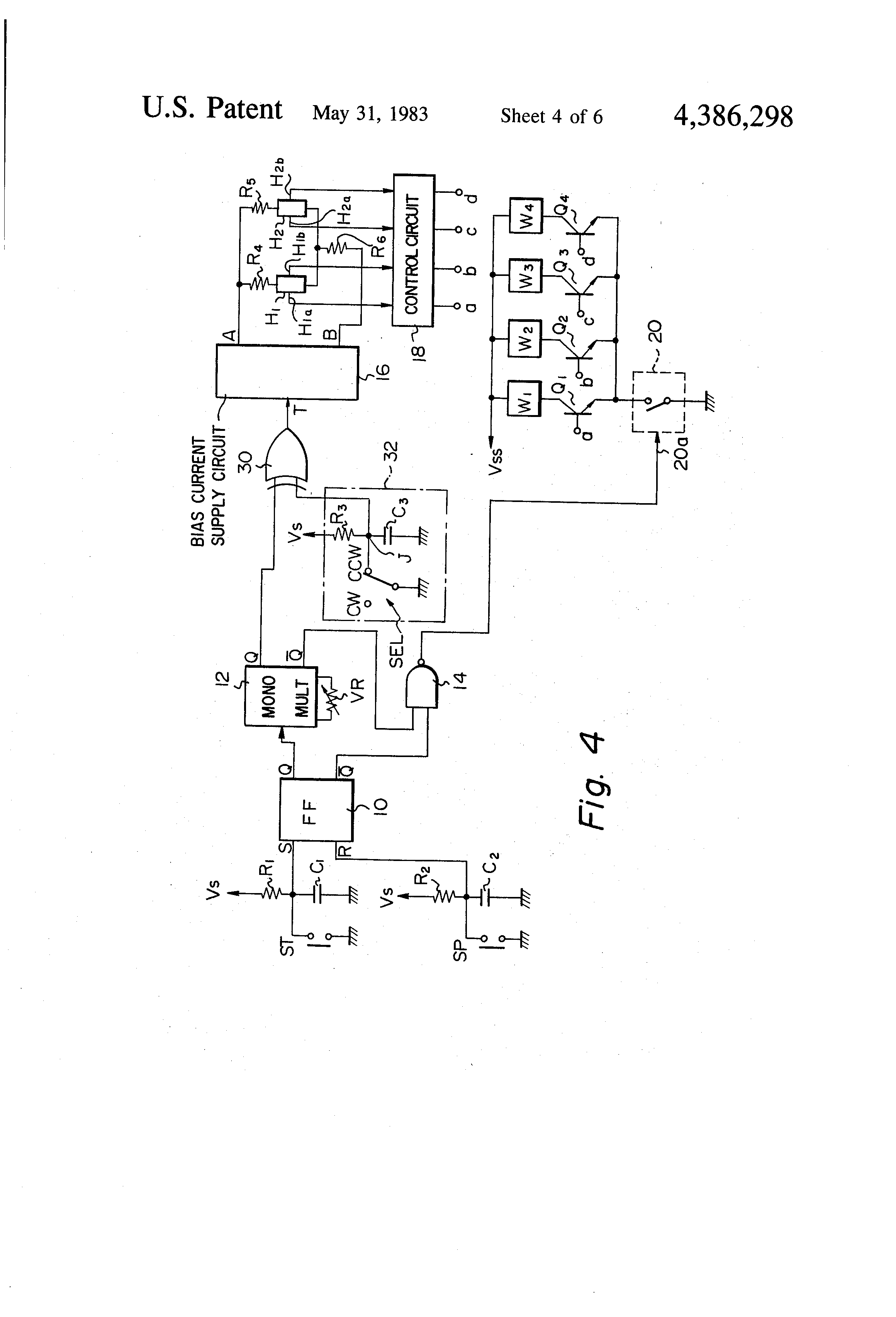 Patent Us4386298 Brushless Dc Motor Control Circuit Google Patents Figure 4 Closed Loop With The Drawing