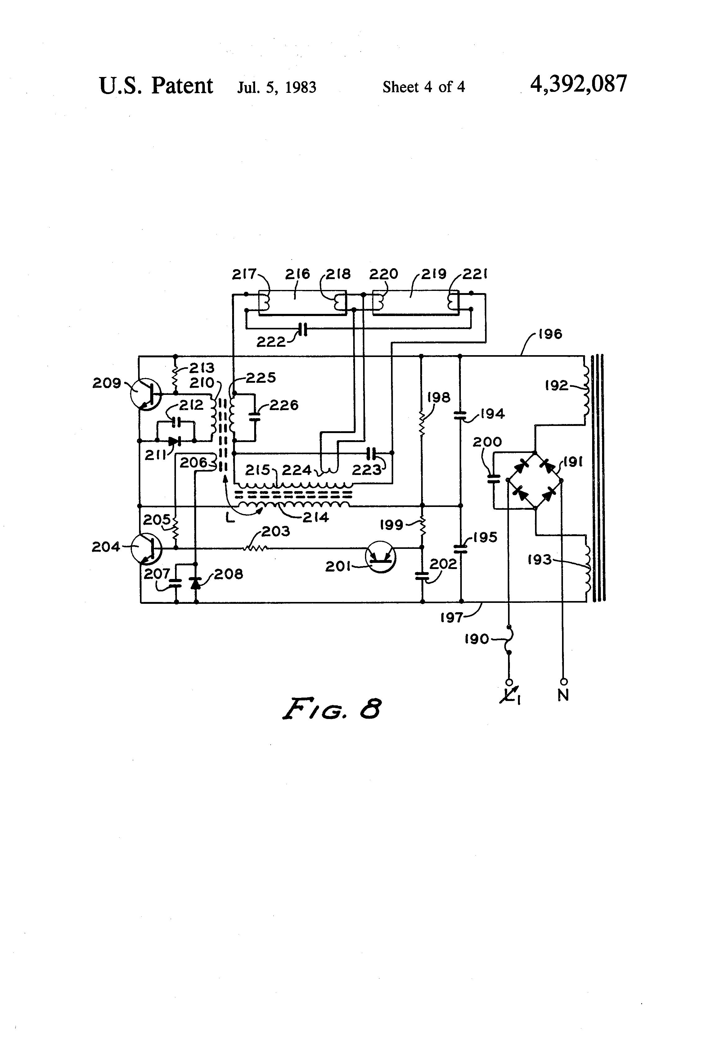 patent us4392087