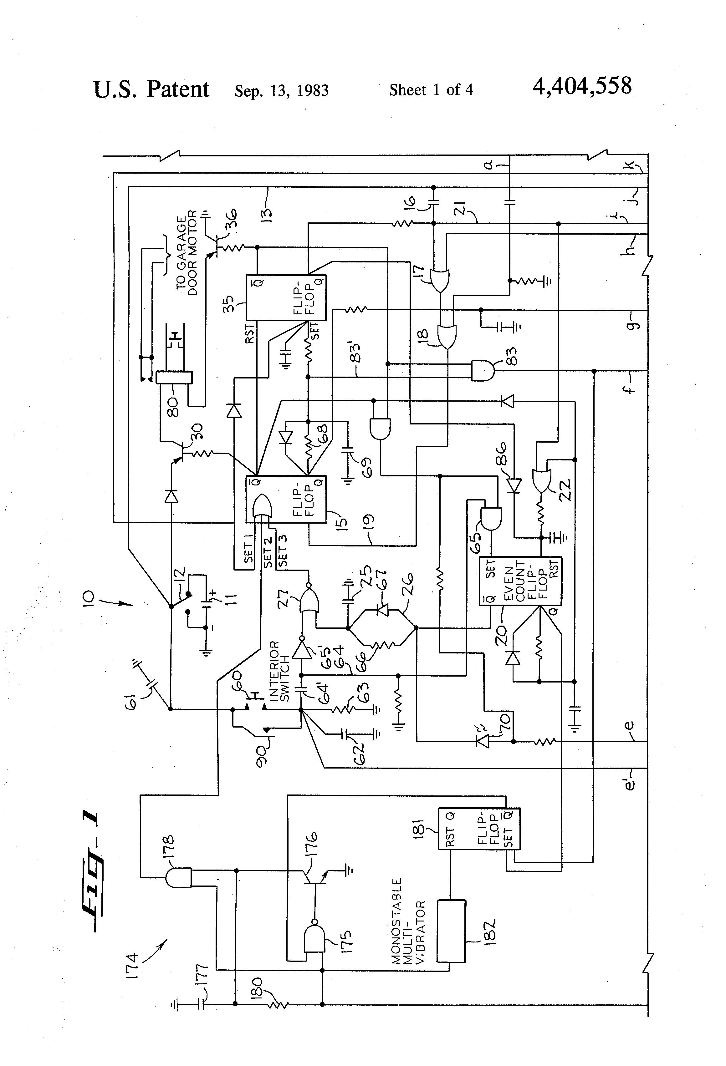 Cool Garage Door Opener Remote Control Circuit Diagram Wiring Diagram Wiring Cloud Oideiuggs Outletorg