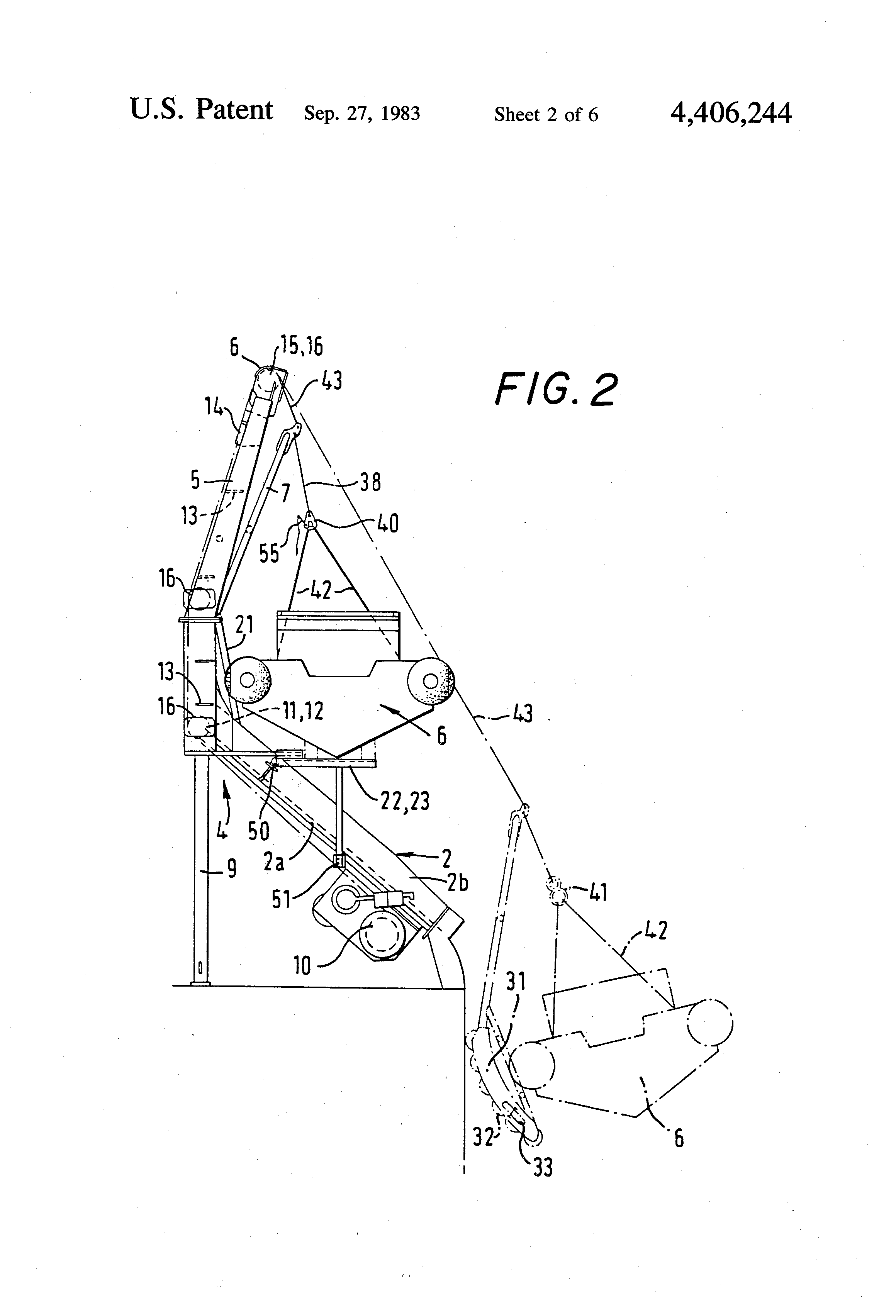 Patent US4406244 - Launching and recovery apparatus ...