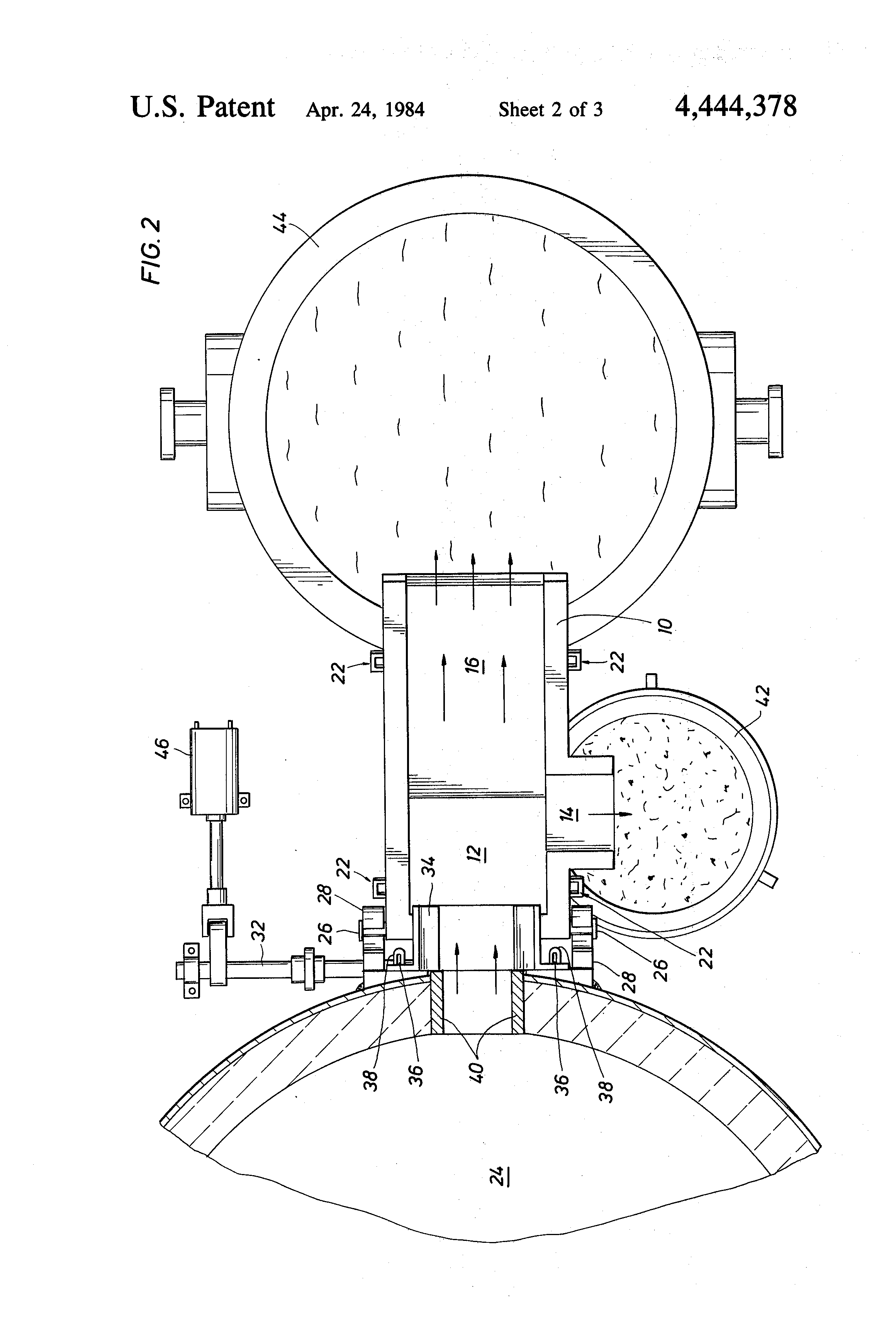 Sand And Slag Separator : Patent us apparatus for separating slag from a