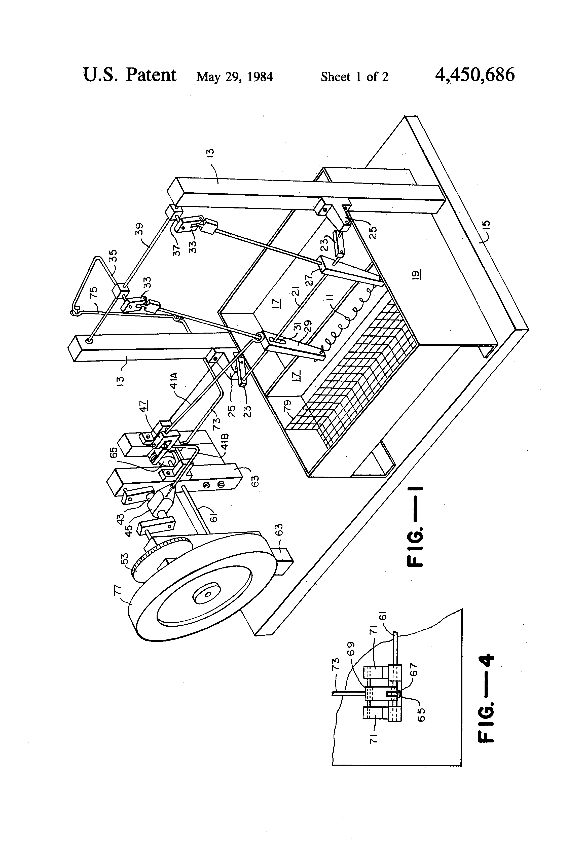 Patent US4450686 - Single wire nitinol engine - Google Patents