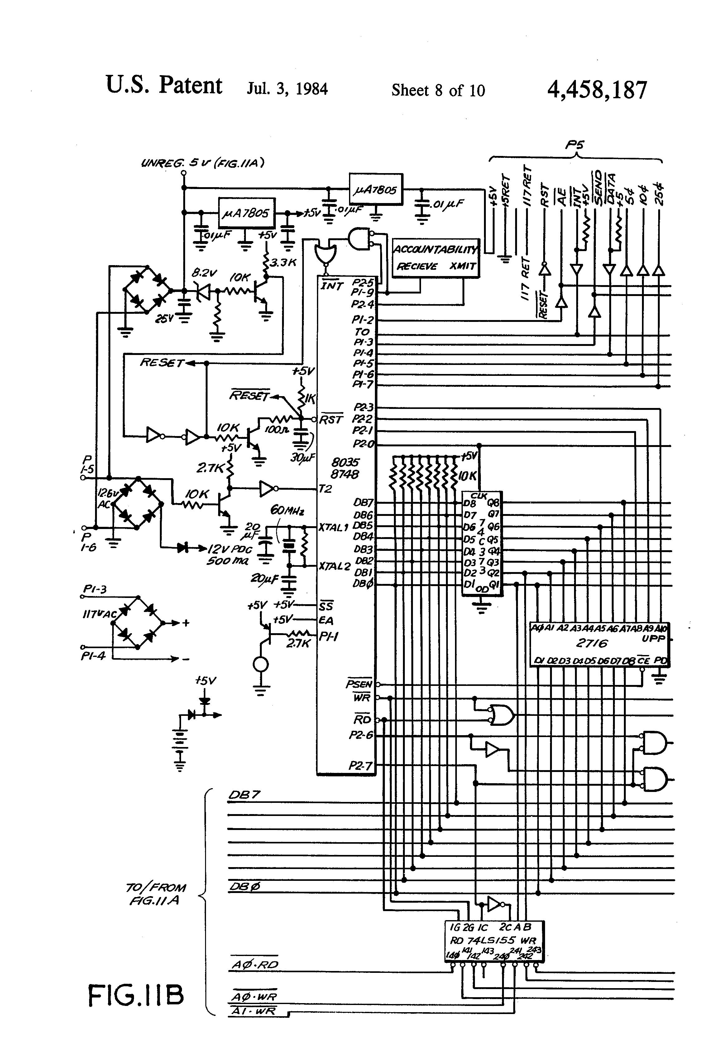 ... US4458187 8 patent us4458187 vending machine control and diagnostic  vending machine wiring diagram at cita.