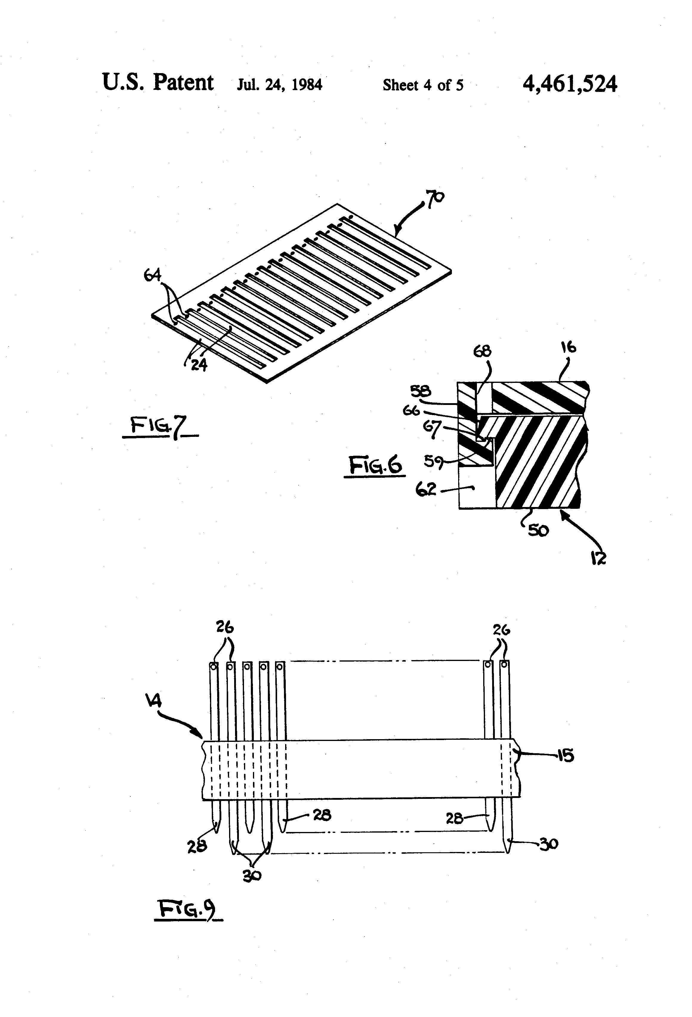 patent us4461524