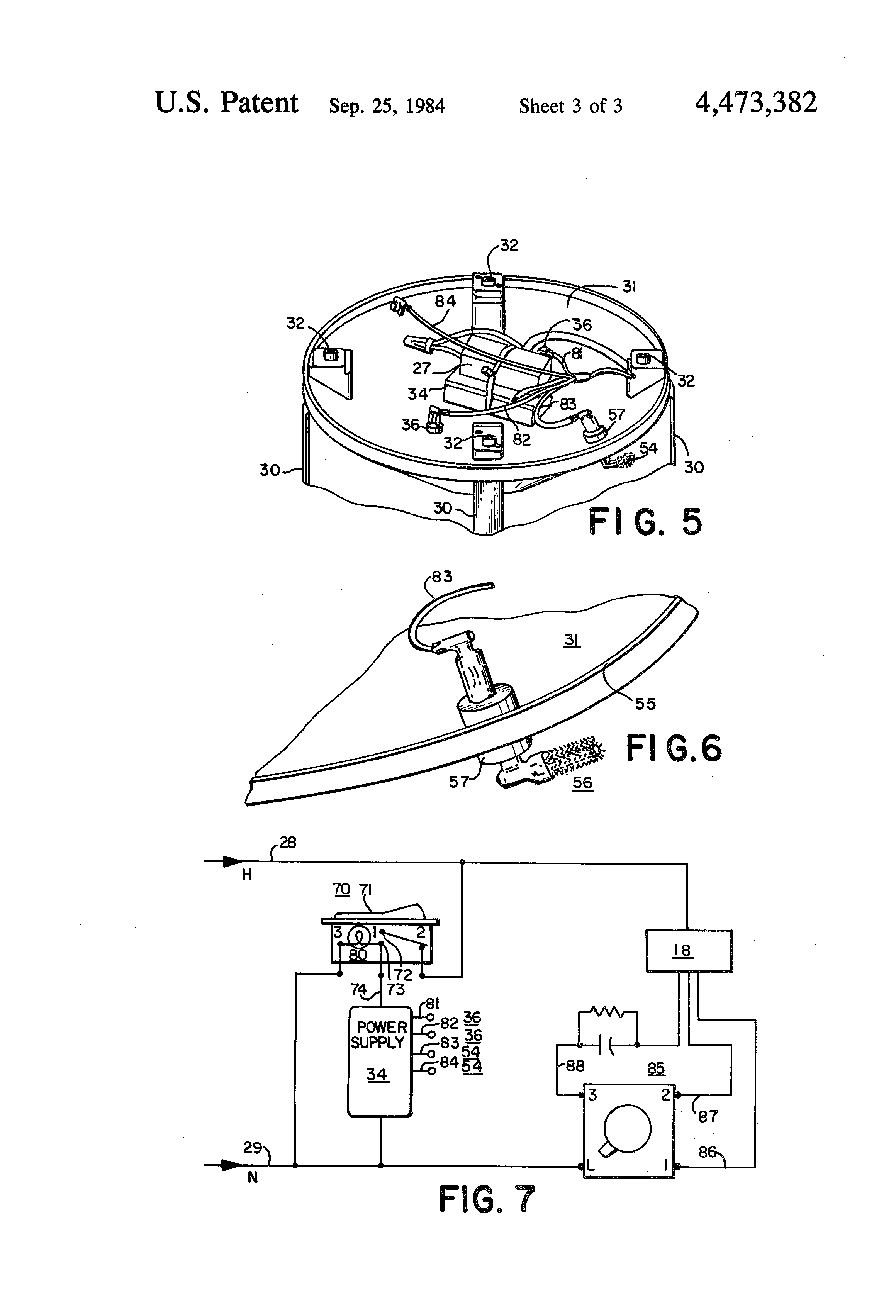 Lasko Tower Fan Wiring Diagram Everything About Pedestal Patent Us4473382 Air Cleaning And Circulating Apparatus Google Rh Com Automotive Relay Schematic For