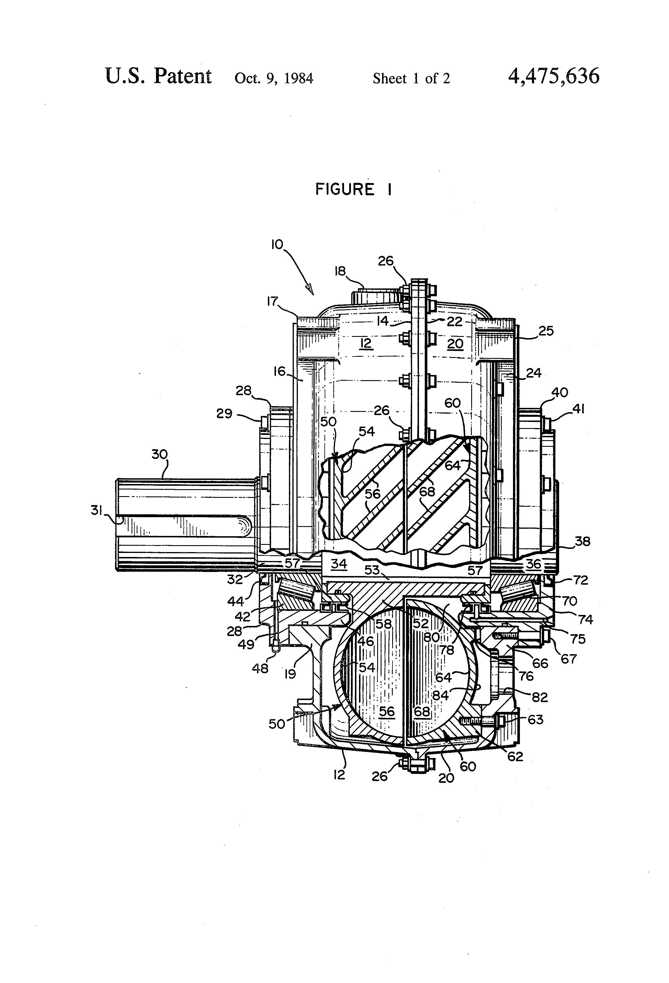 gas water heater diagram water brake diagram patent us4475636 - water brake - google patents
