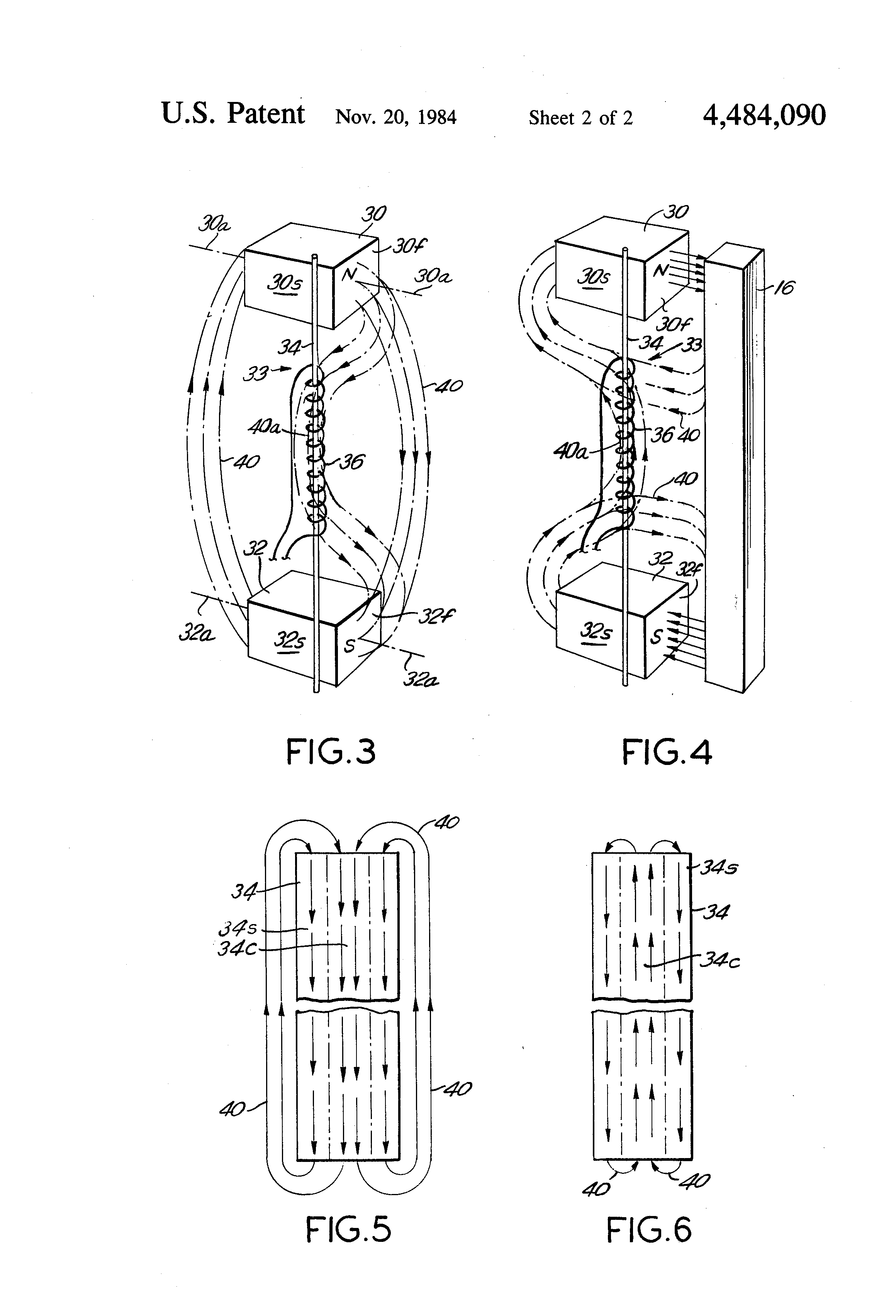 US4484090 2 patent us4484090 pulse generator with shaped magnetic field