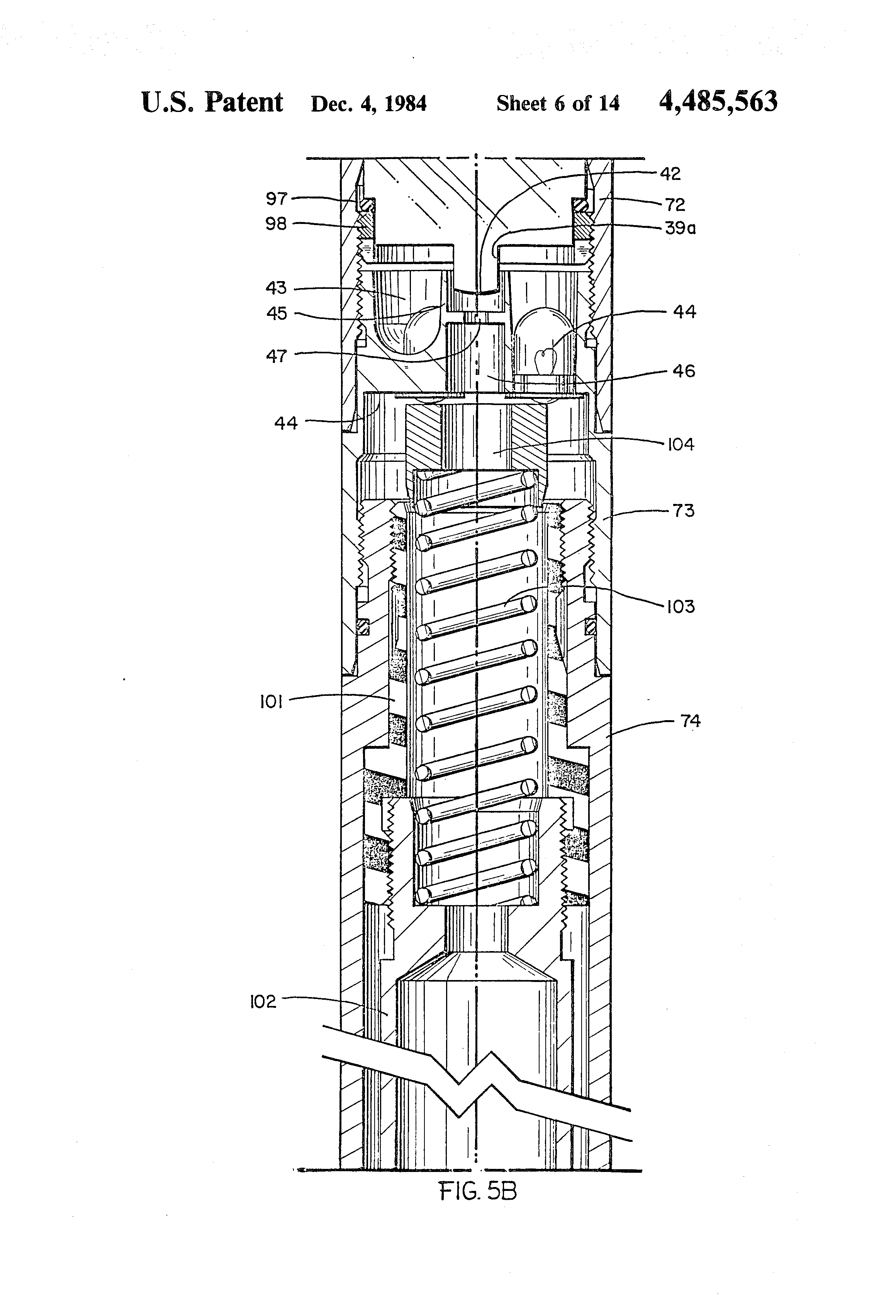 Patent Us4485563 Borehole Survey Instrument Google Patents Sperry Marine Wiring Diagram Drawing