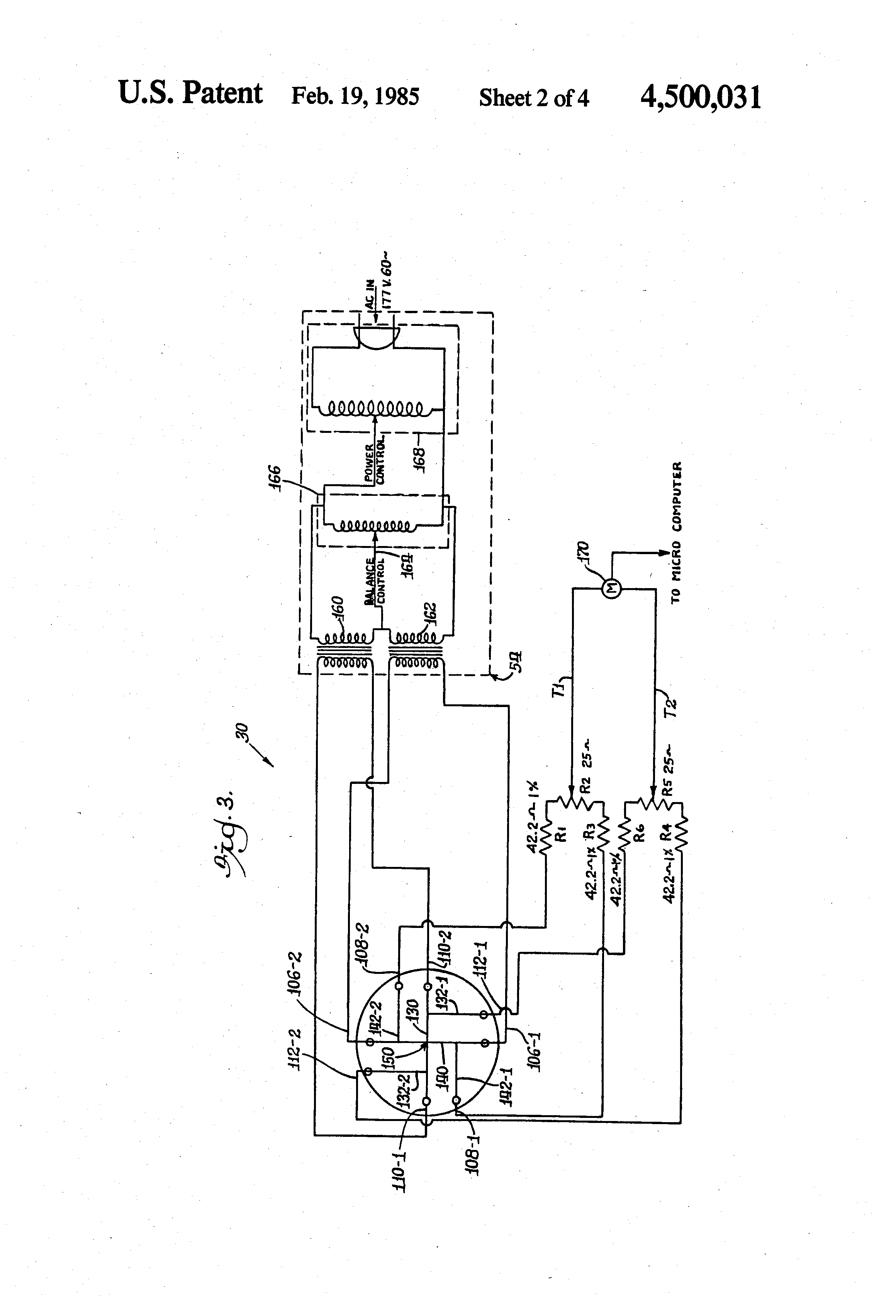 Brevet US4500031 - Method and apparatus for manufacturing a