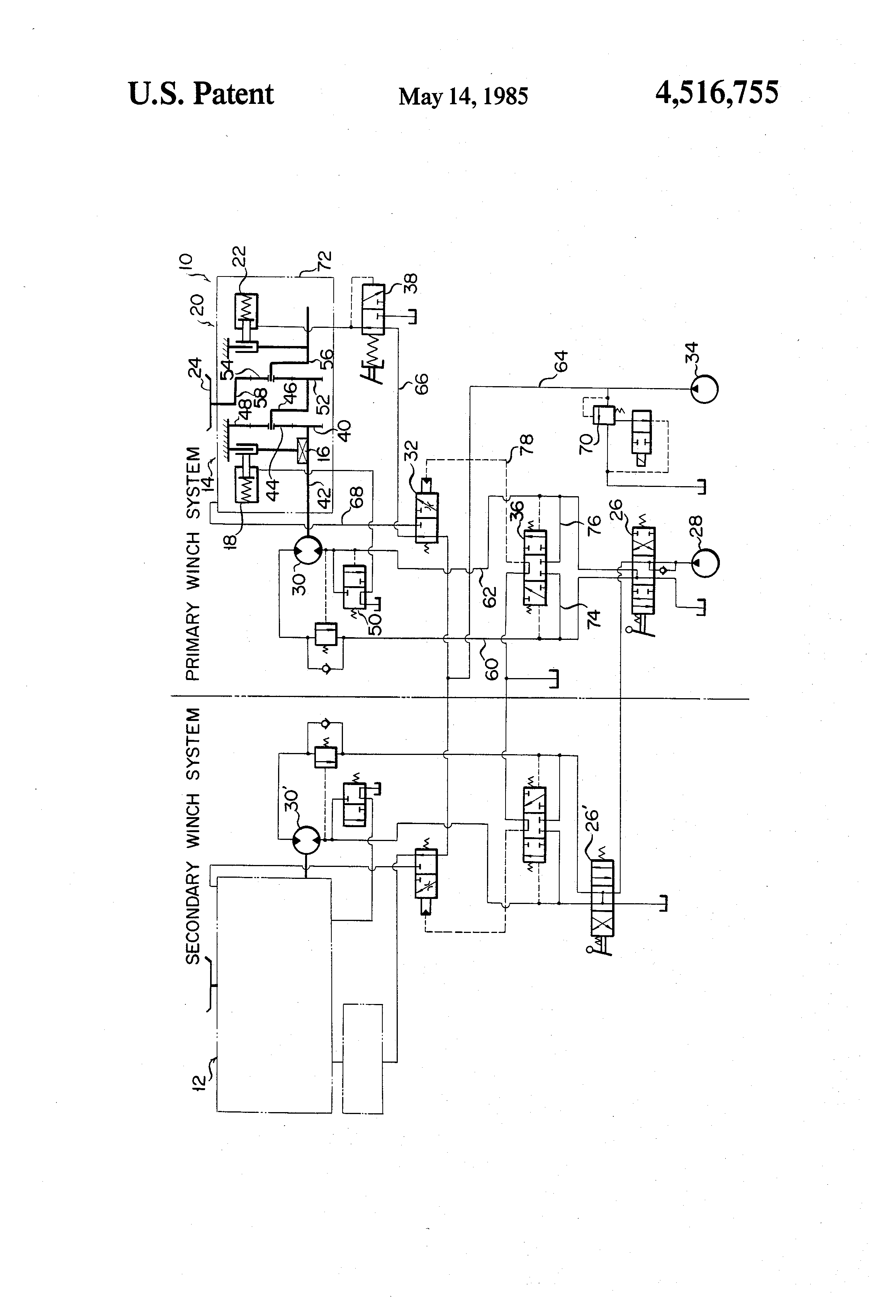 hydraulic winch diagram  want to talk about hydraulics trying to make a better  ramsey 234