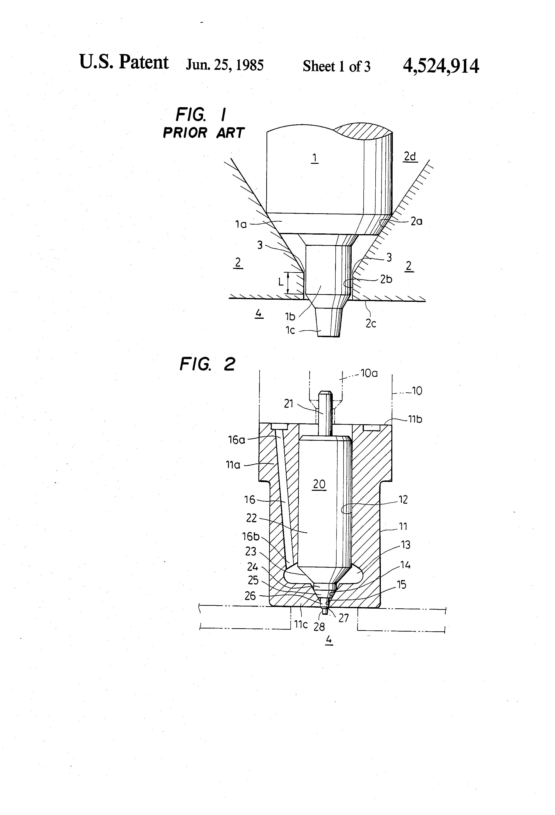 Brevet US4524914 - Throttling pintle-type fuel injection