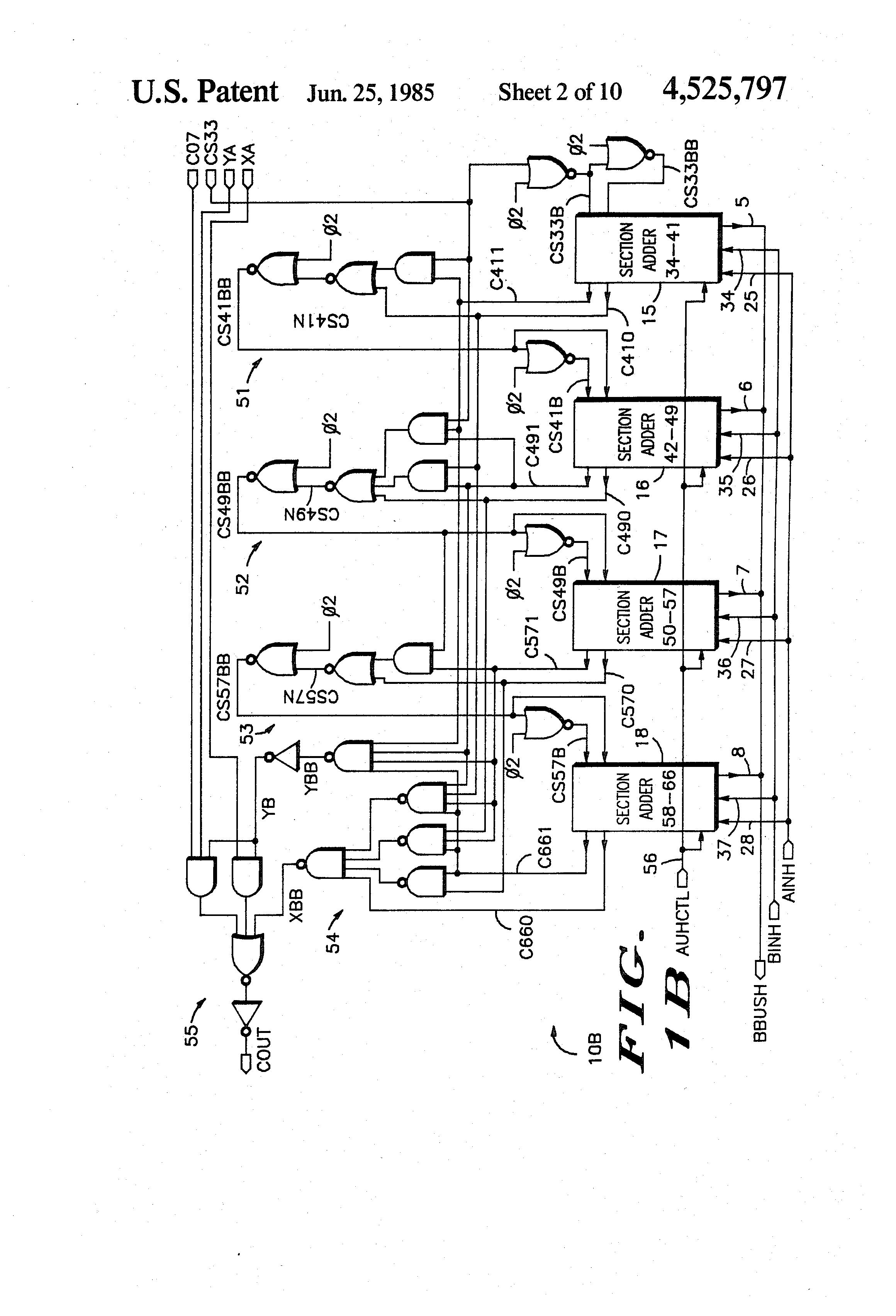 patent us4525797
