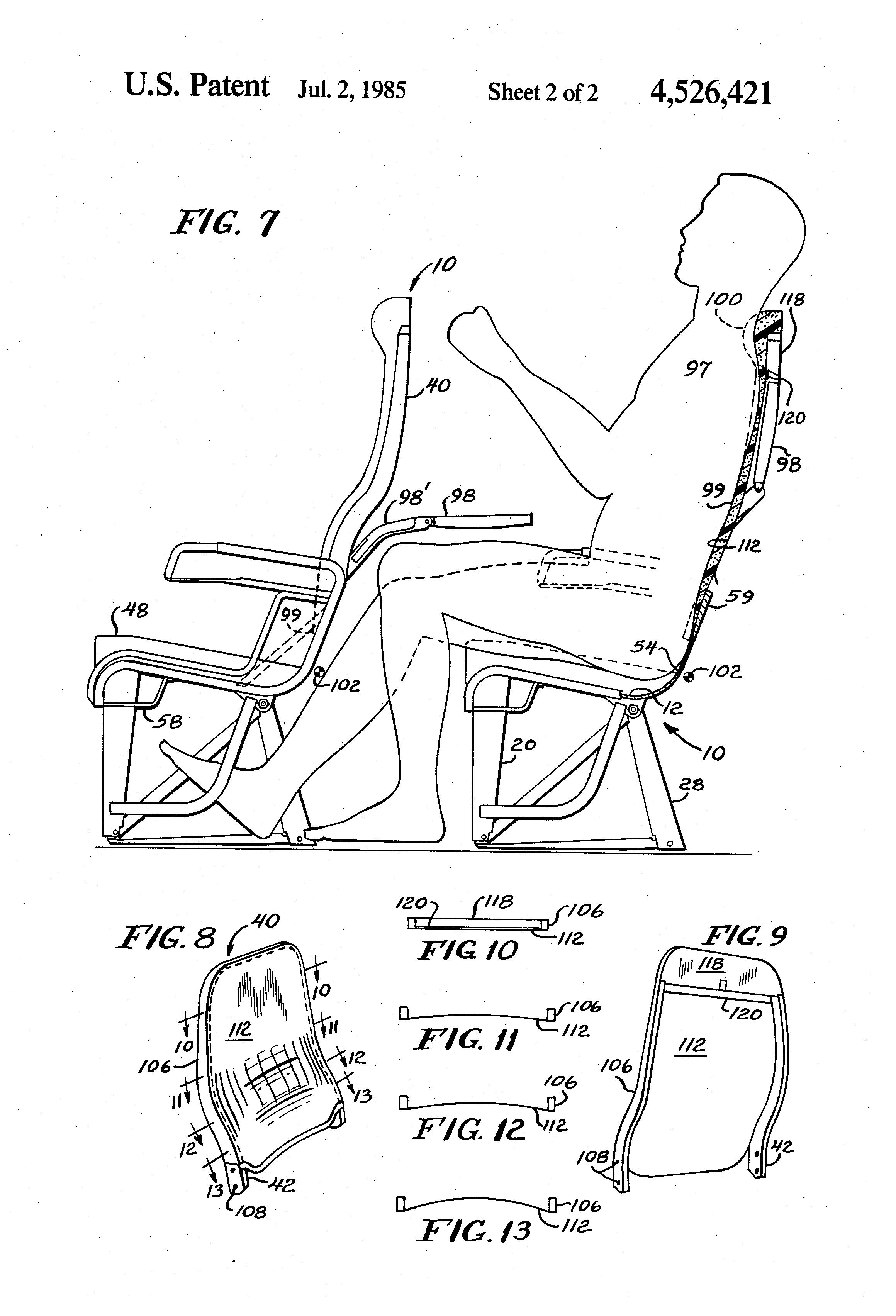 Aircraft Seats: Multi-passenger Aircraft Seat Having
