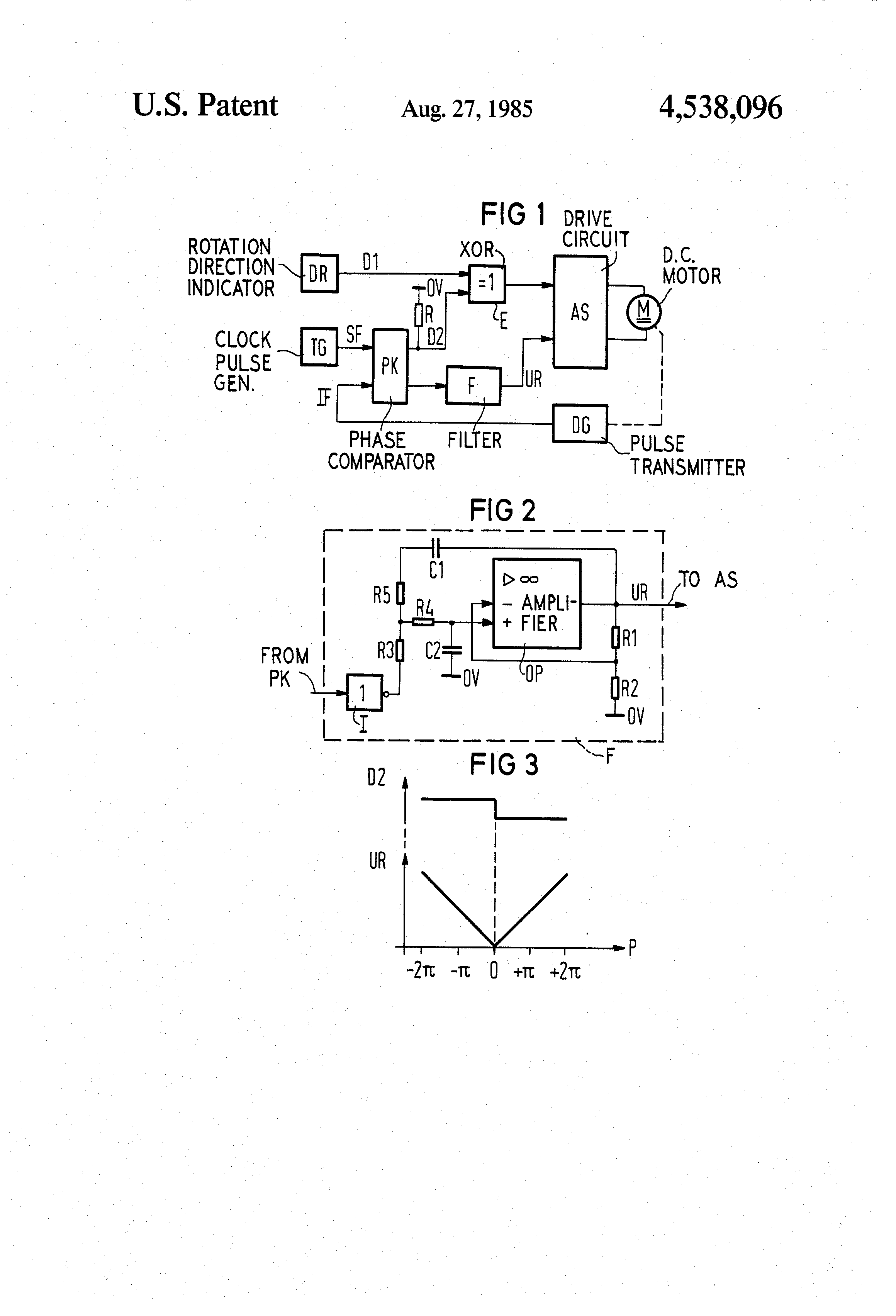 Patente Us4538096 Speed Control Circuit For A Dc Motor Google Driving Motorcontrol Controlcircuit Patent Drawing Previous Page Next Reivindicaes5 I Claim As My Invention 1 Comprising