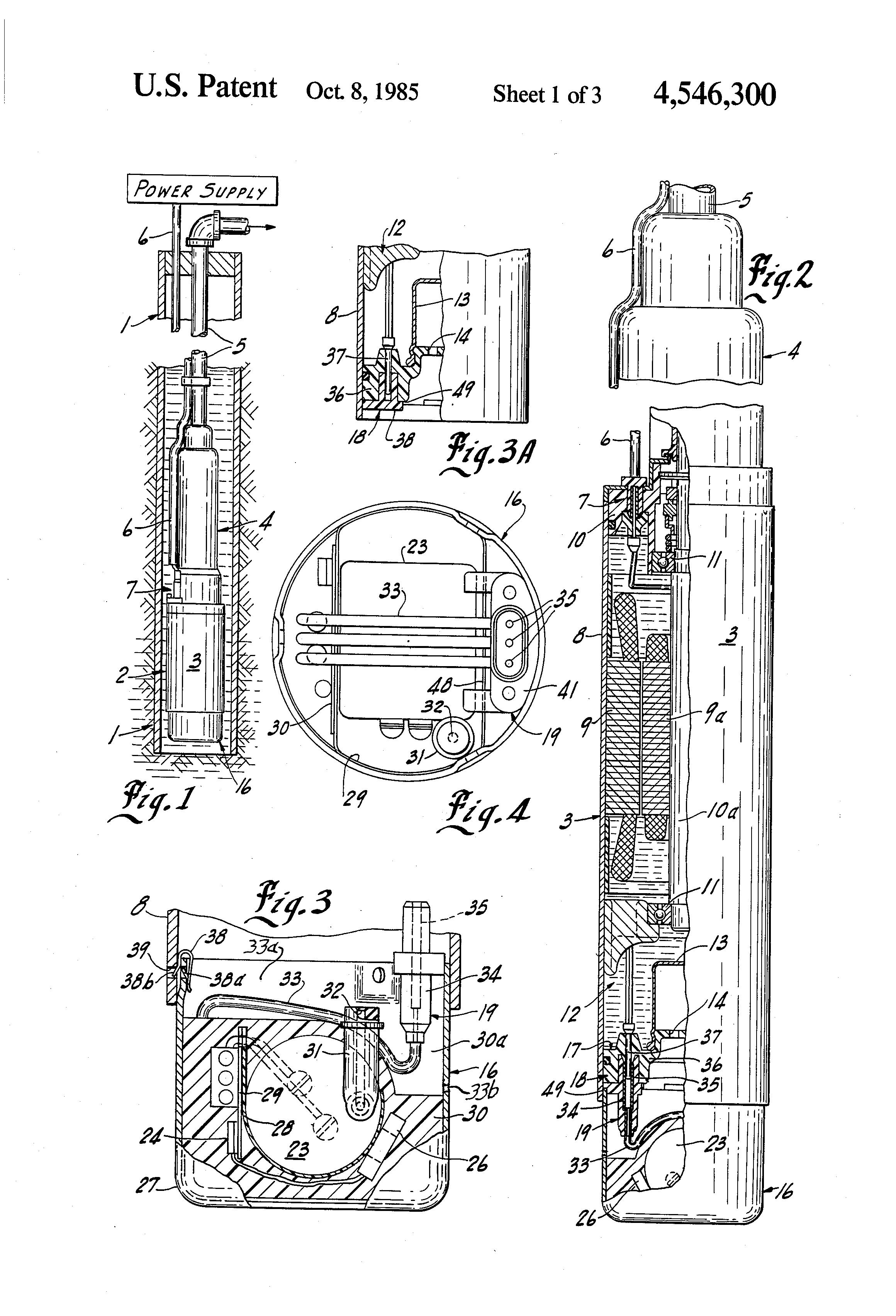 patent us4546300