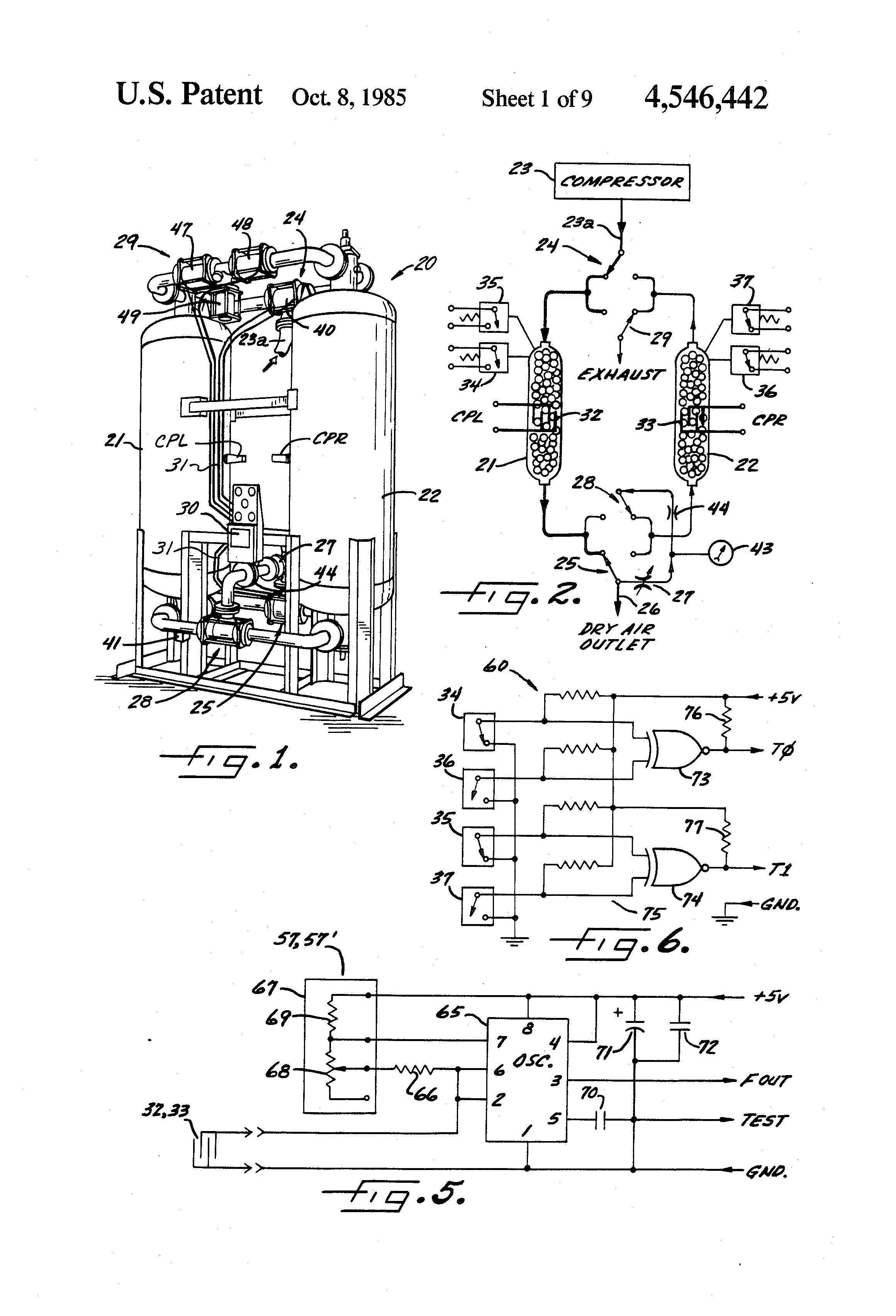Patent Us4546442 Microcomputer Control System For
