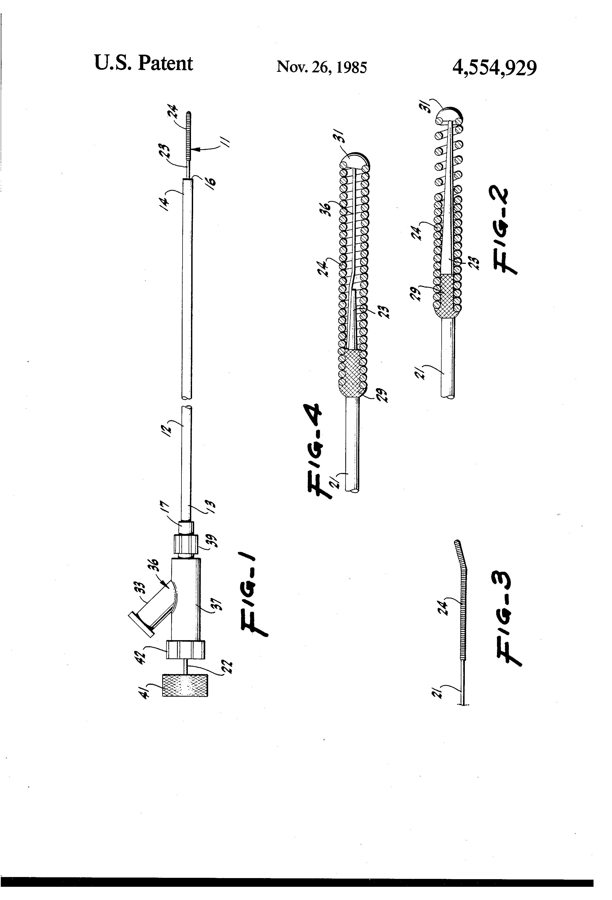 patent us4554929