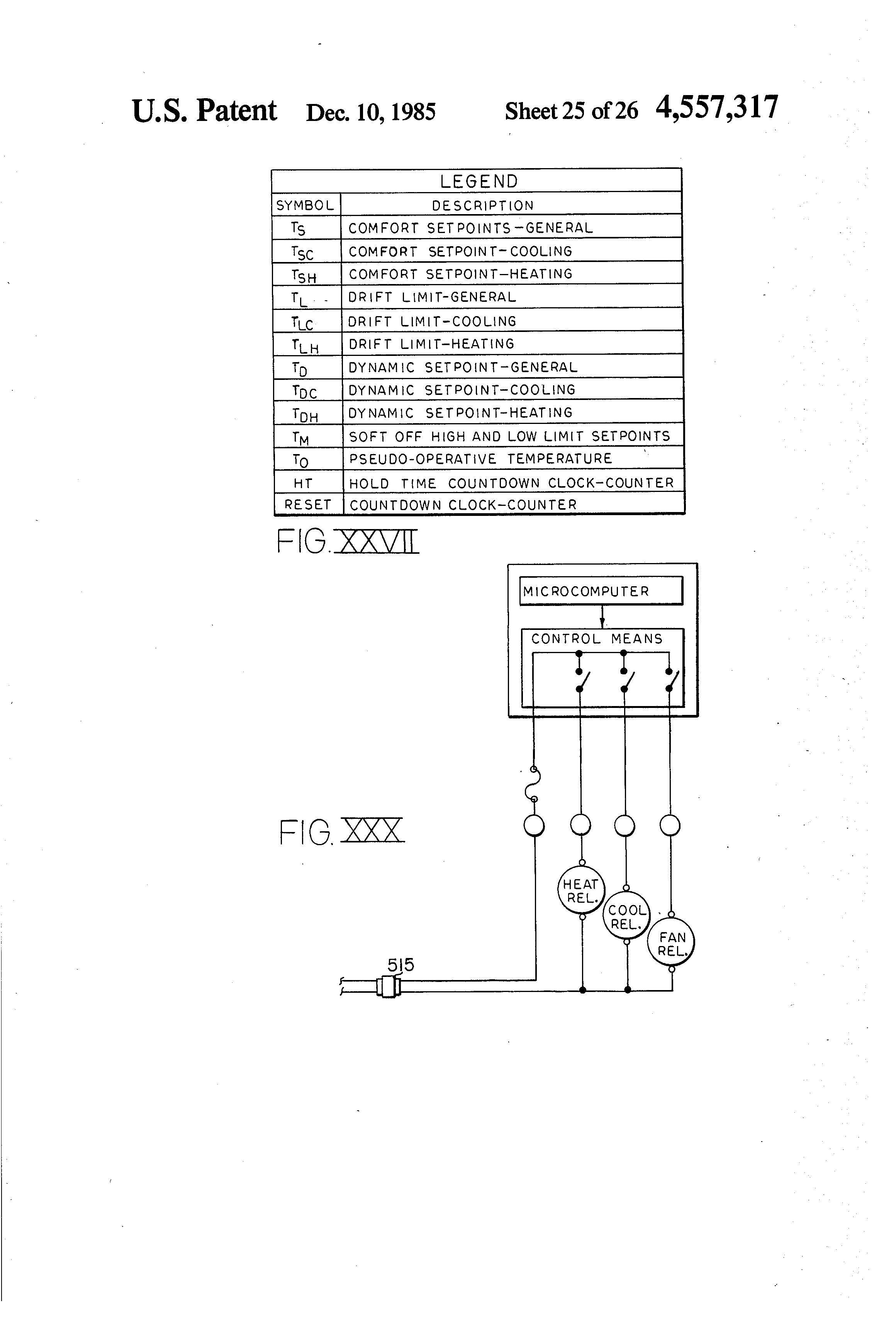 Patent US4557317 Temperature control systems with programmed dead  #3E3E3E