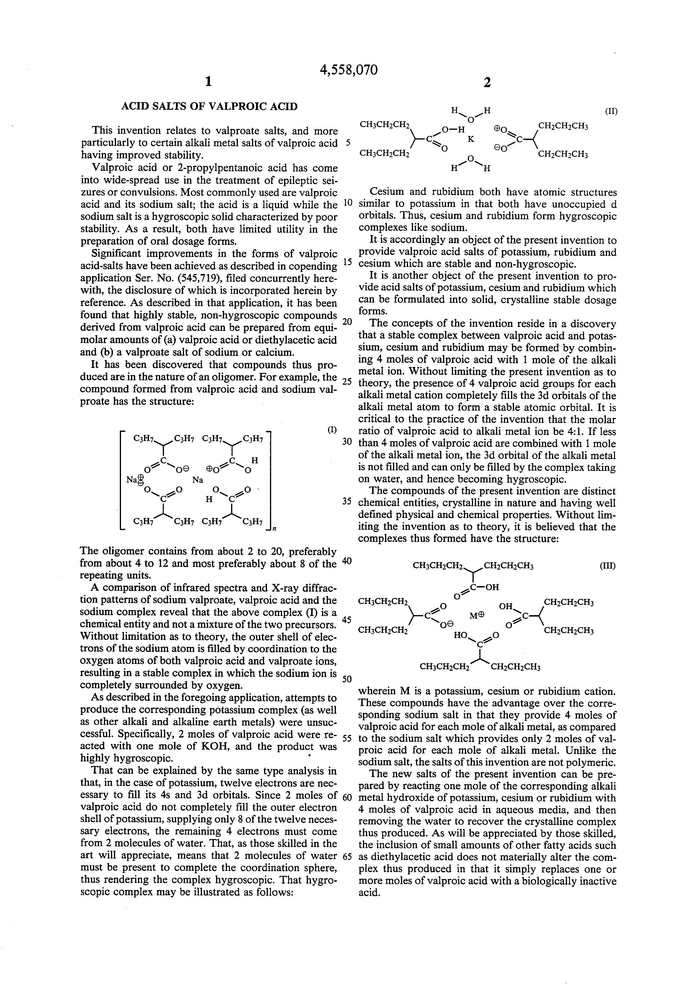 Valproic Acid Us Pharmacy