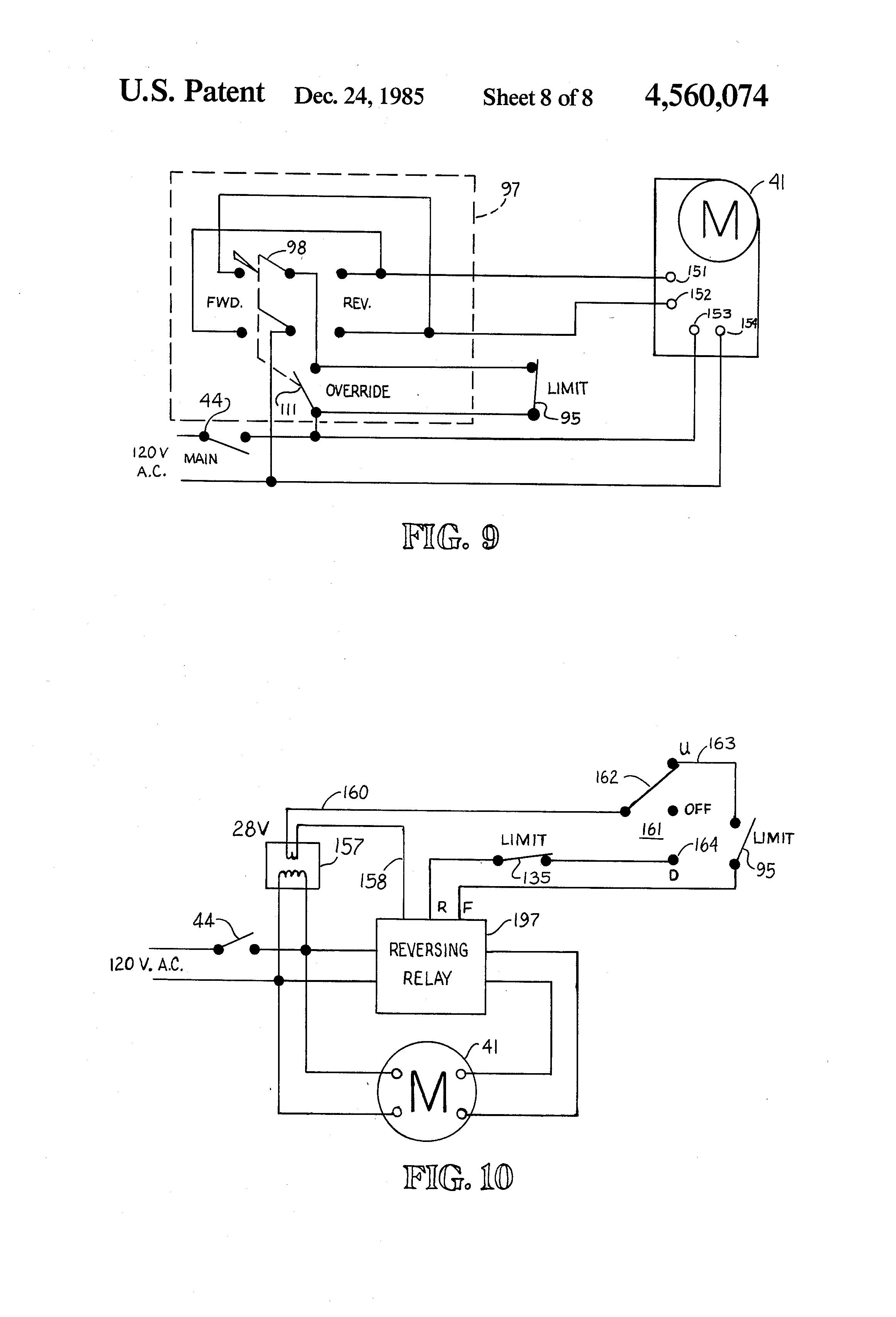 Lift Control Wiring Diagram