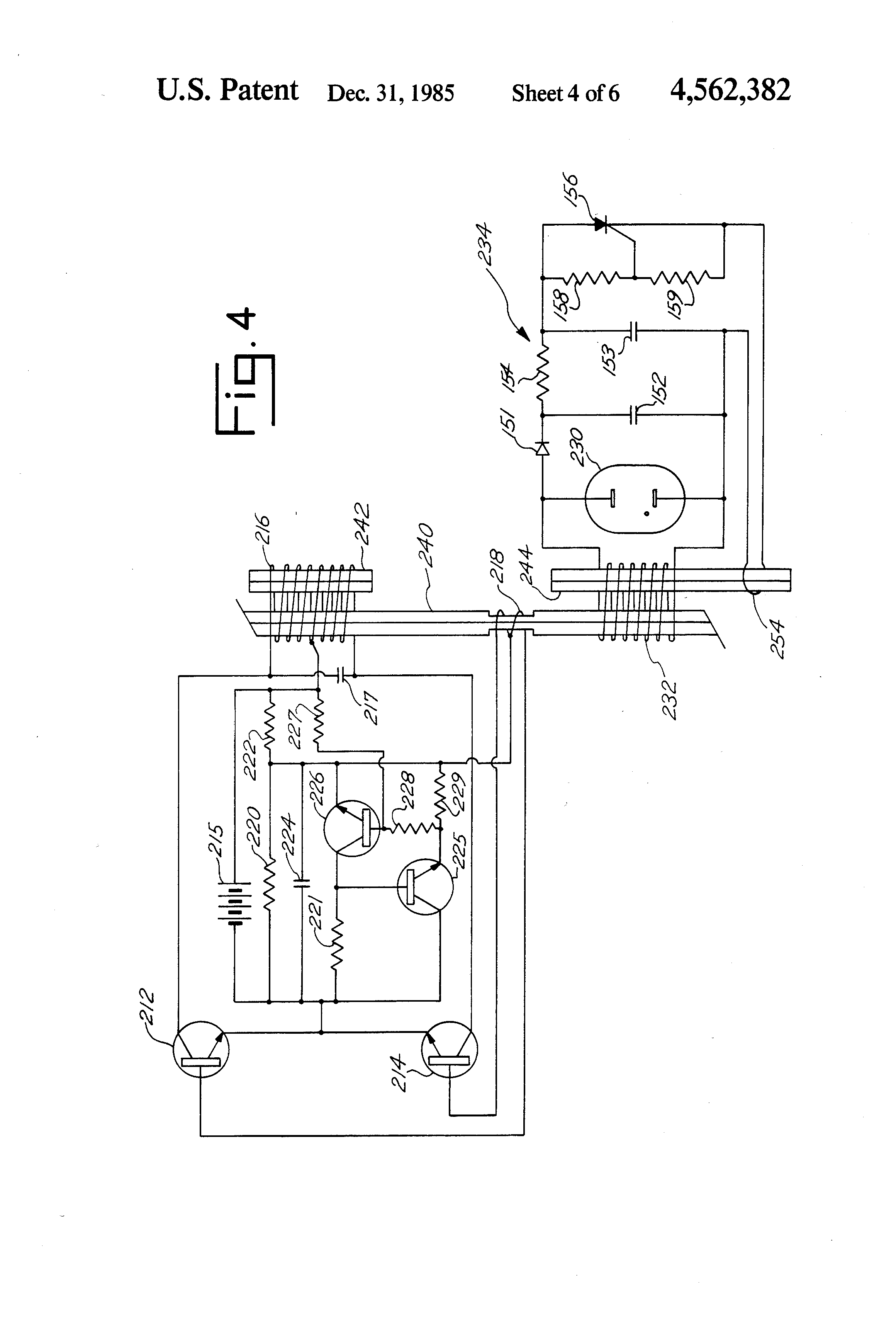 patent us4562382 - solid-state inverter including a multiple core transformer