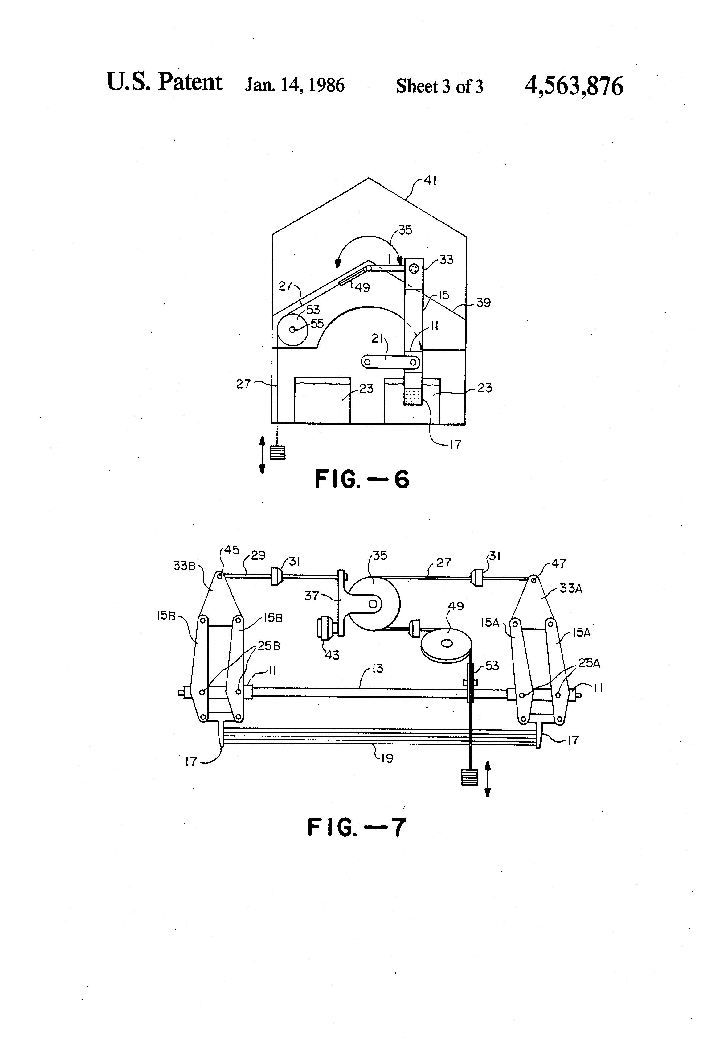 Patent US4563876 - Linear output nitinol engine - Google ...