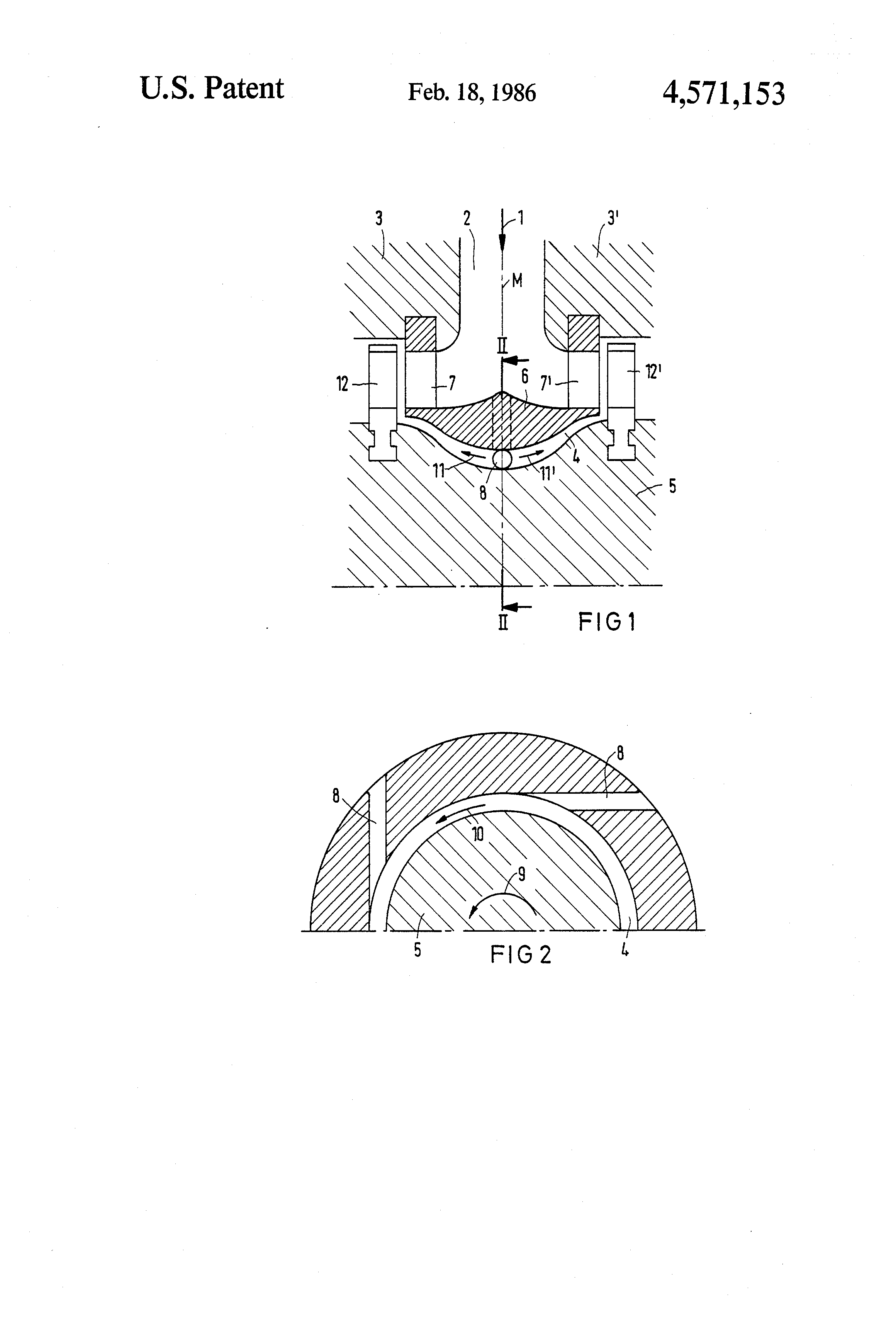 Patent US Axial admission steam turbine especially of