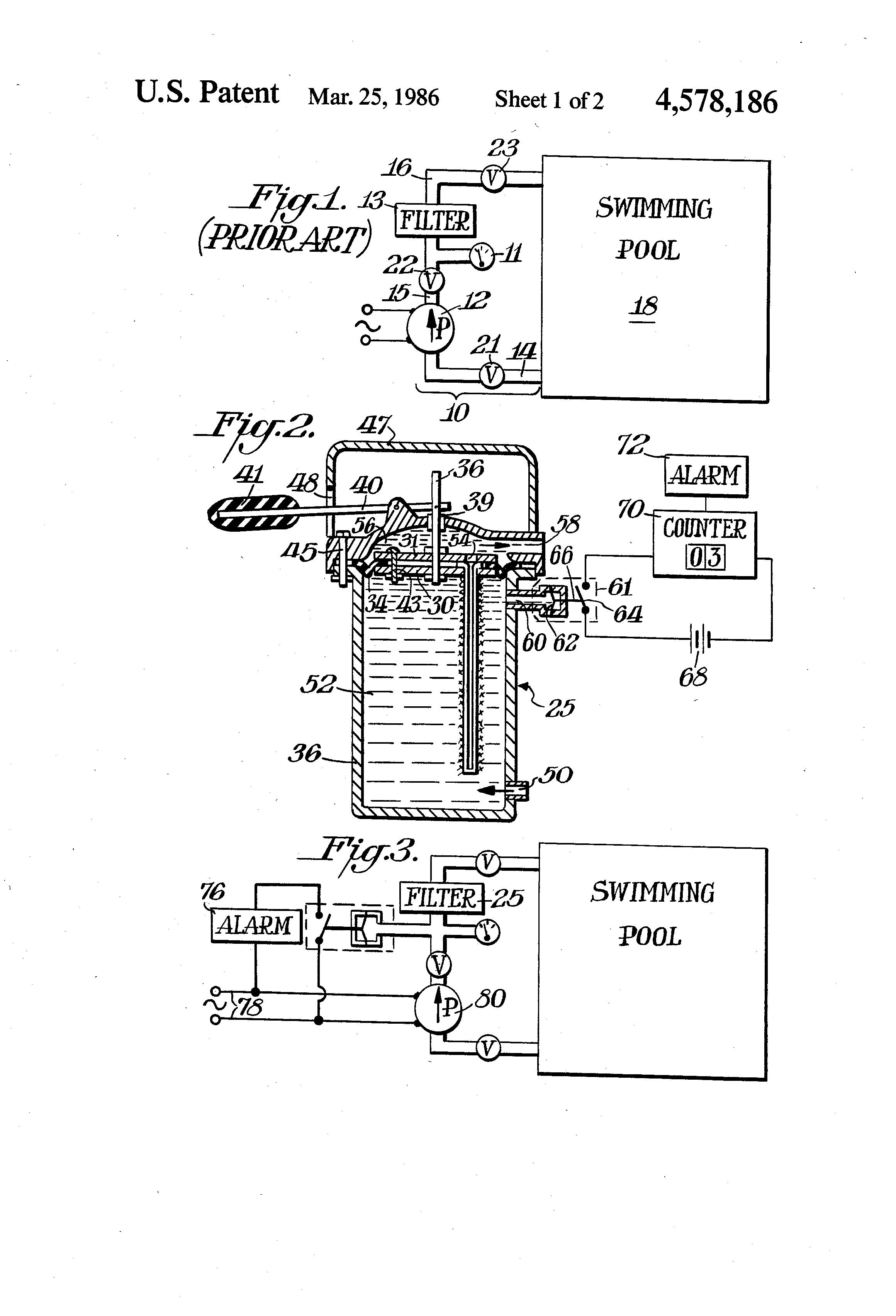 Swimming Pool Filter System Diagram Patent Us Google Patenti 2320x3408