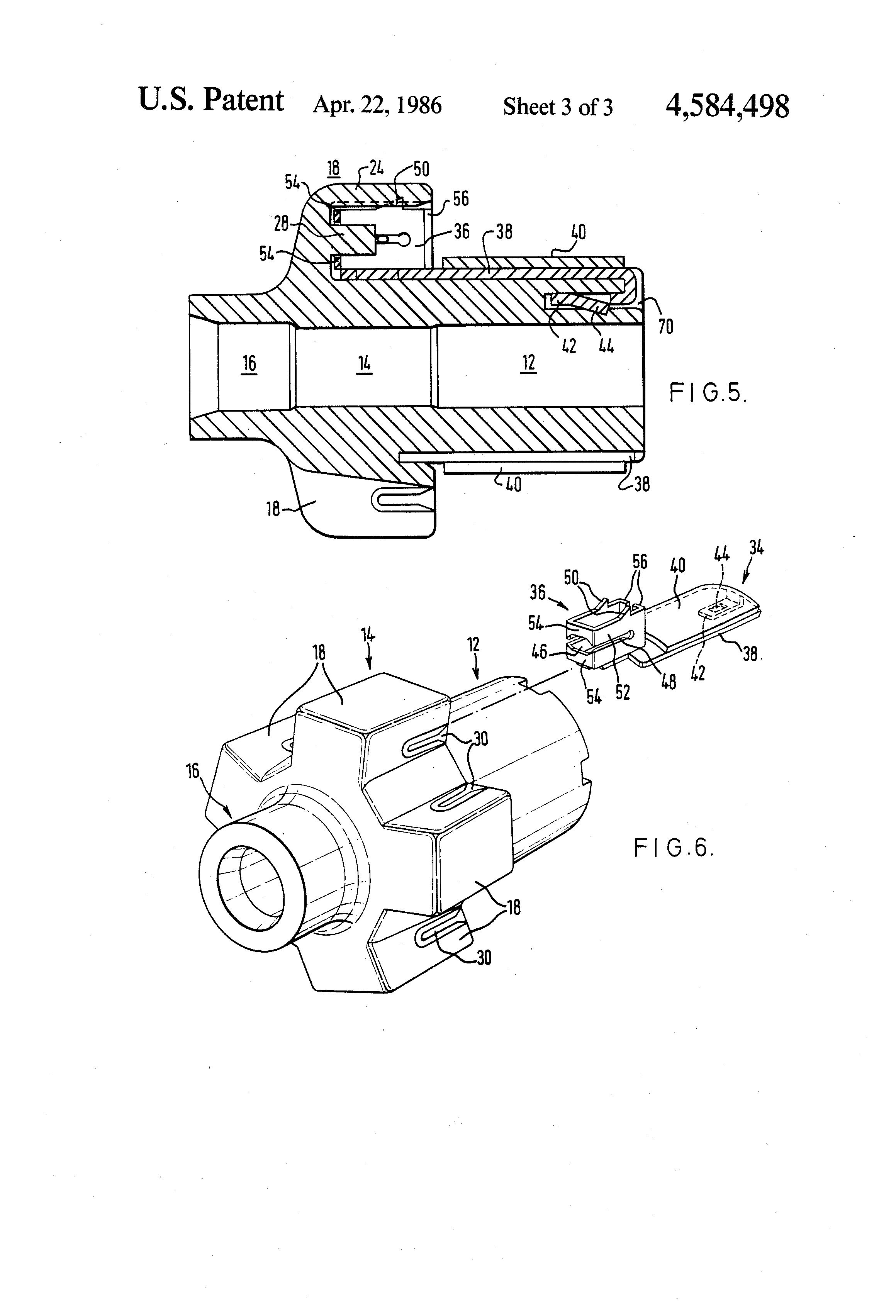 patent us4584498 mutator with winding connections AC Servo Motor Wiring Diagram patent drawing