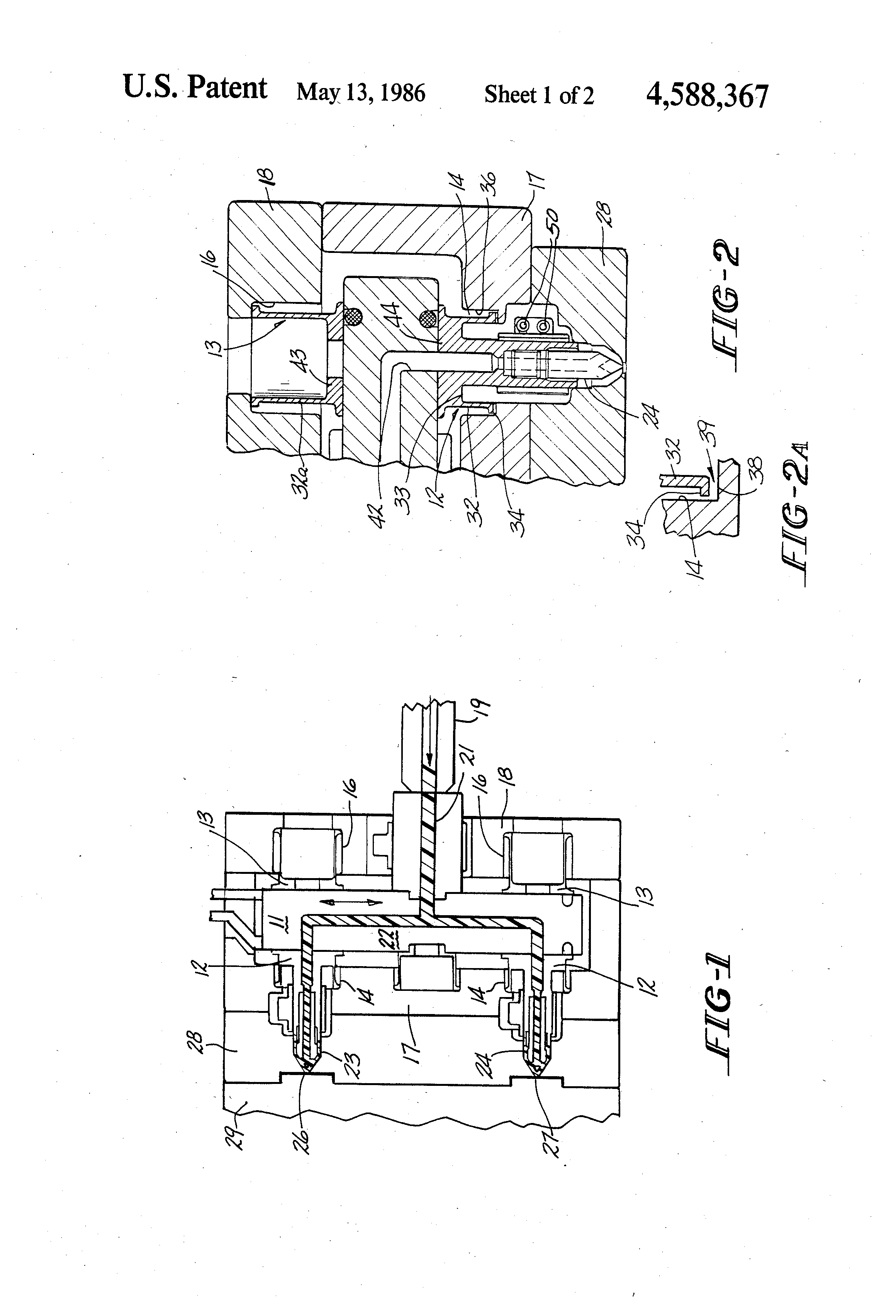 Patent US4588367 - Hot runner manifold for injection ...