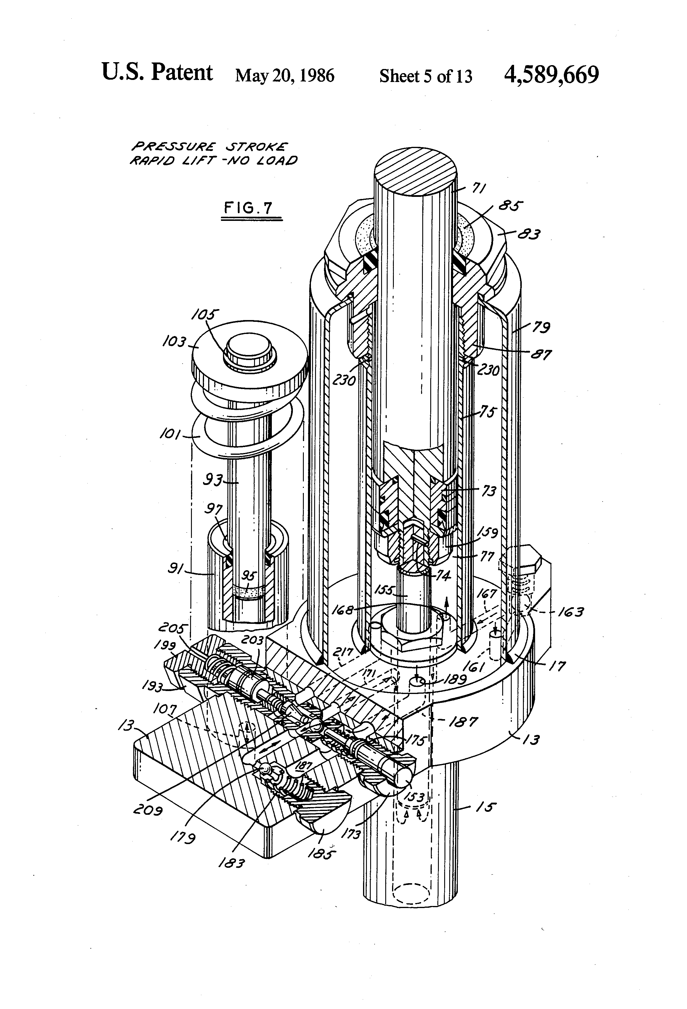 patent us4589669