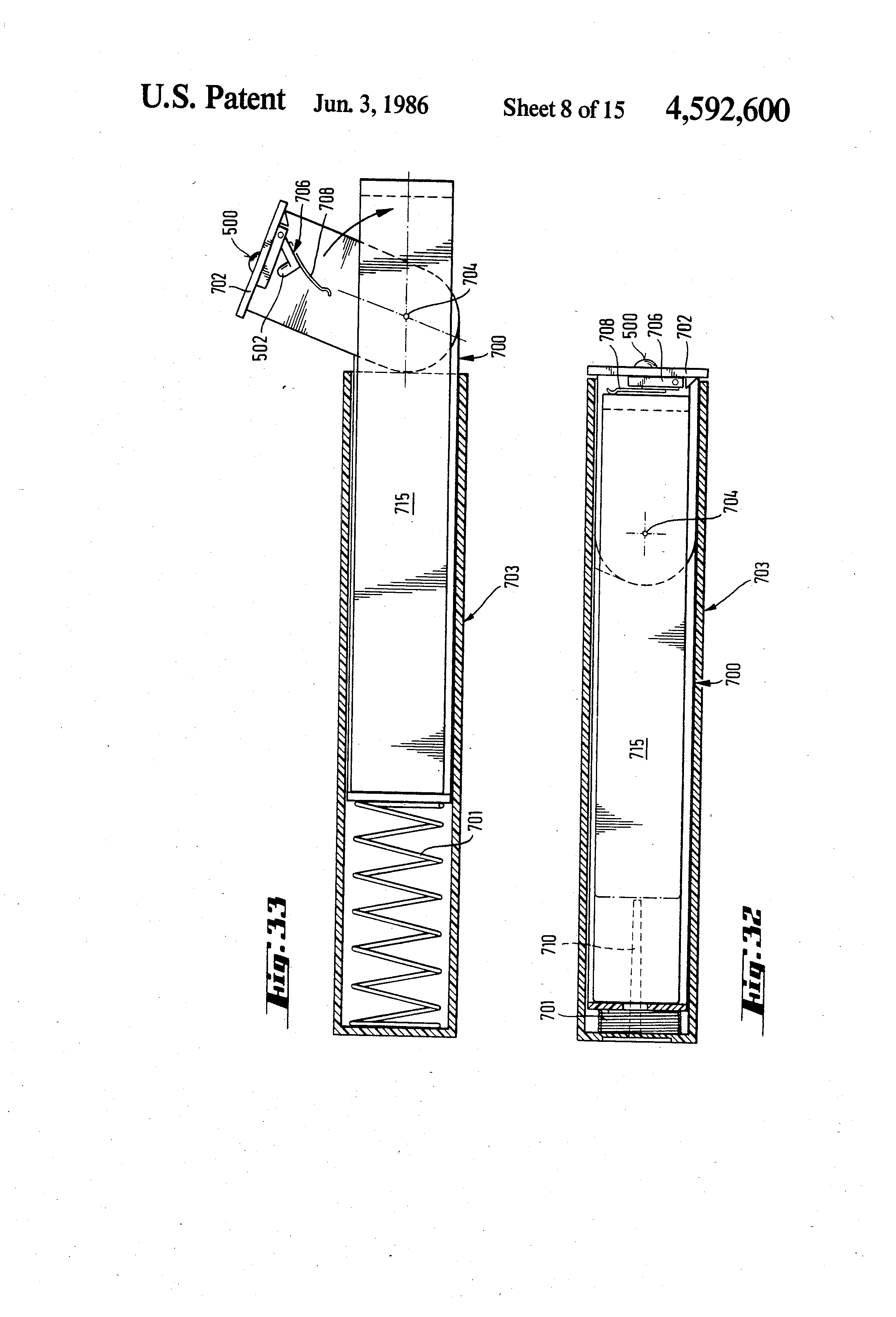 Patent Us4592600 Magnetic Tape Cassette Box Google Patentsuche 1004 Sterling 15a Wiring Diagrams Drawing