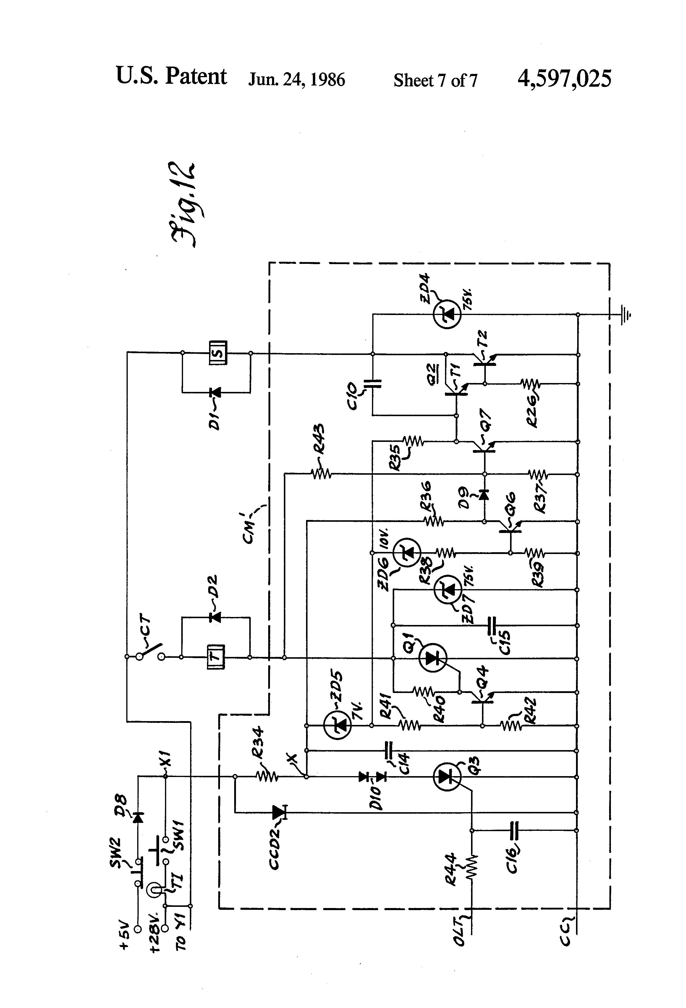 patent us4597025