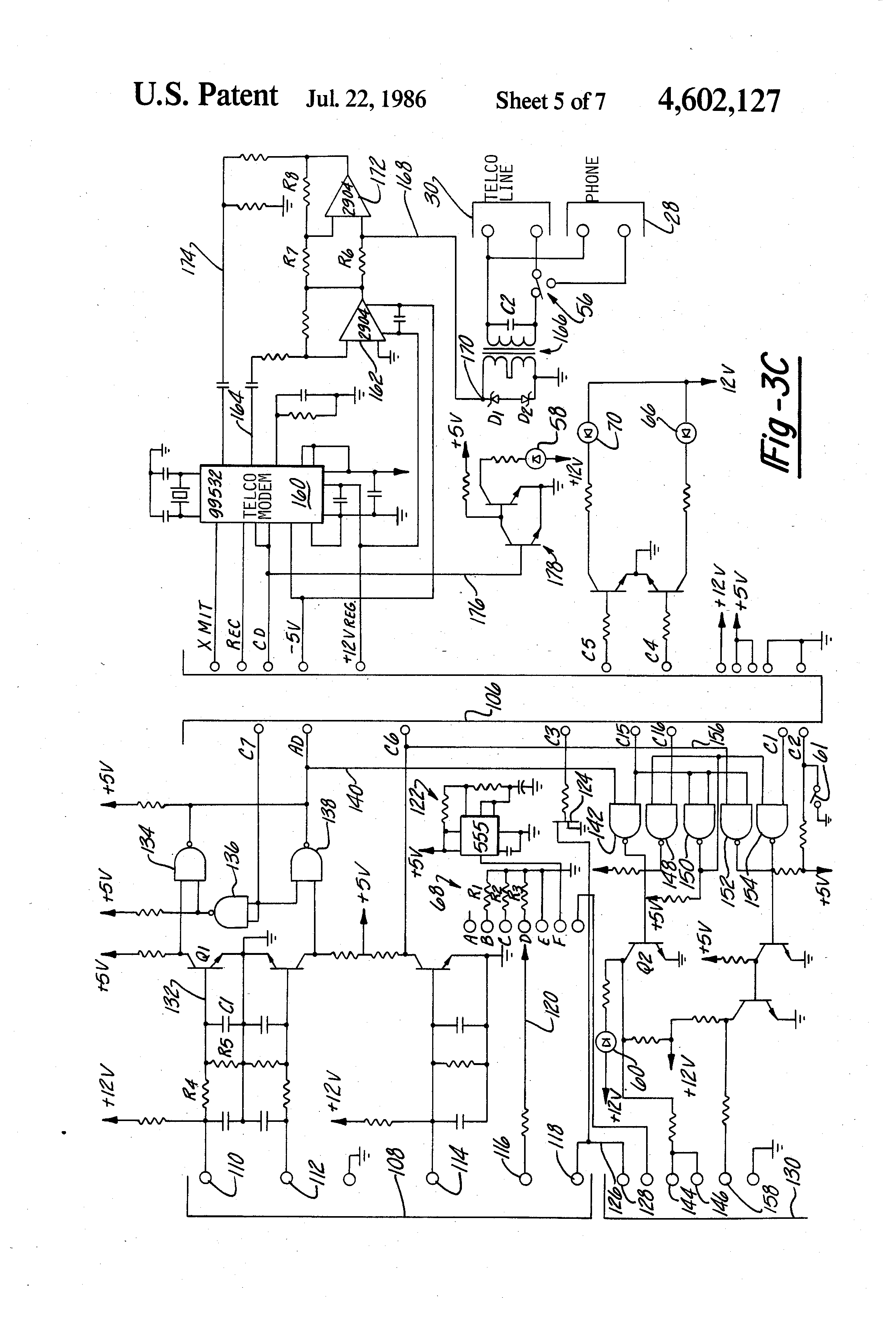 patent us4602127 - diagnostic data recorder