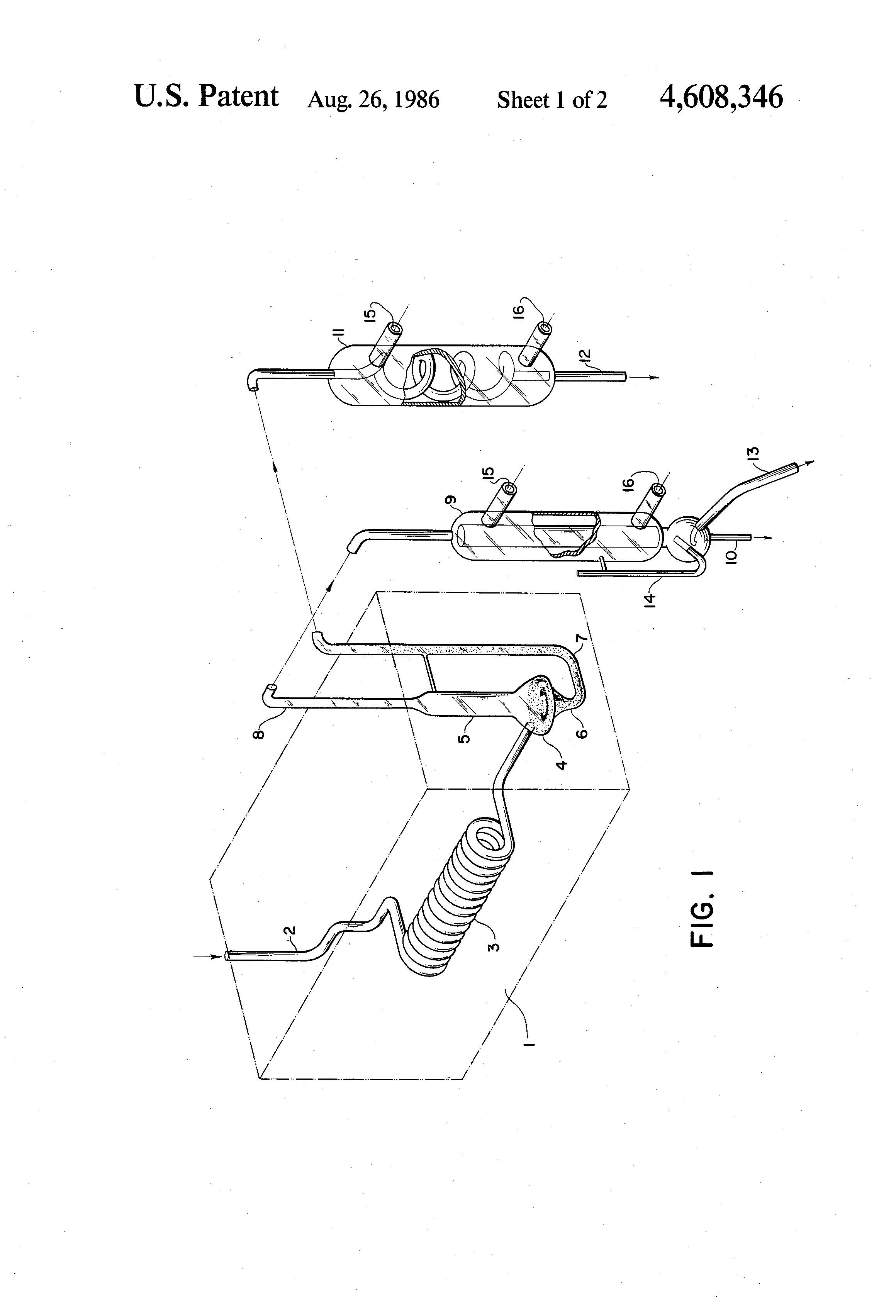 Patent Us4608346 Method For Determining Phenol Using A Simple Distillation Apparatus Diagram Drawing