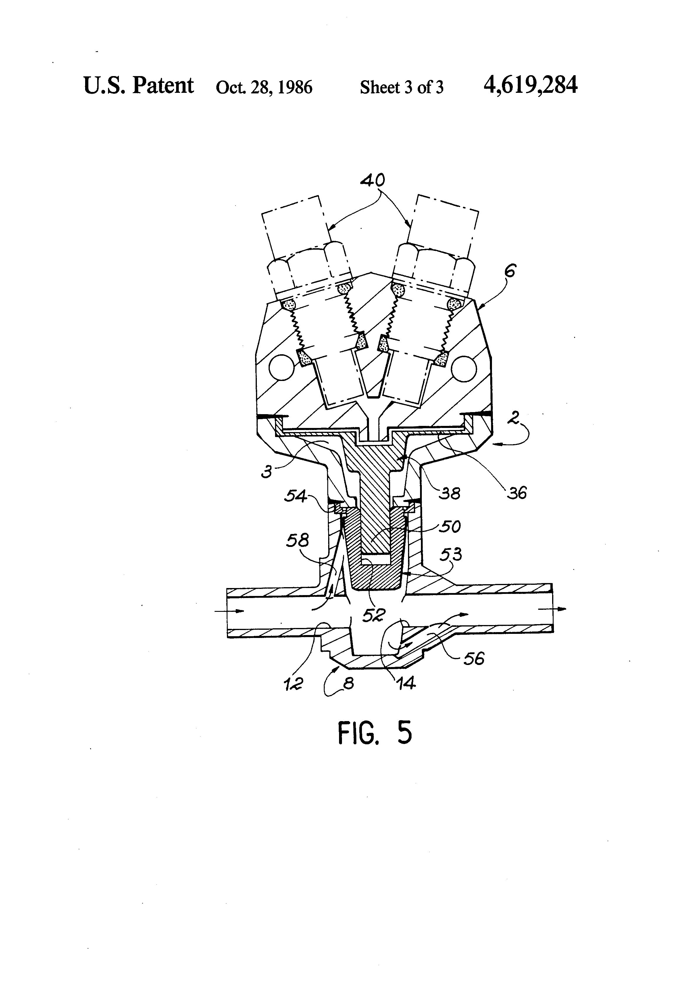 Patent US4619284 - Pyrotechnic valve - Google Patents